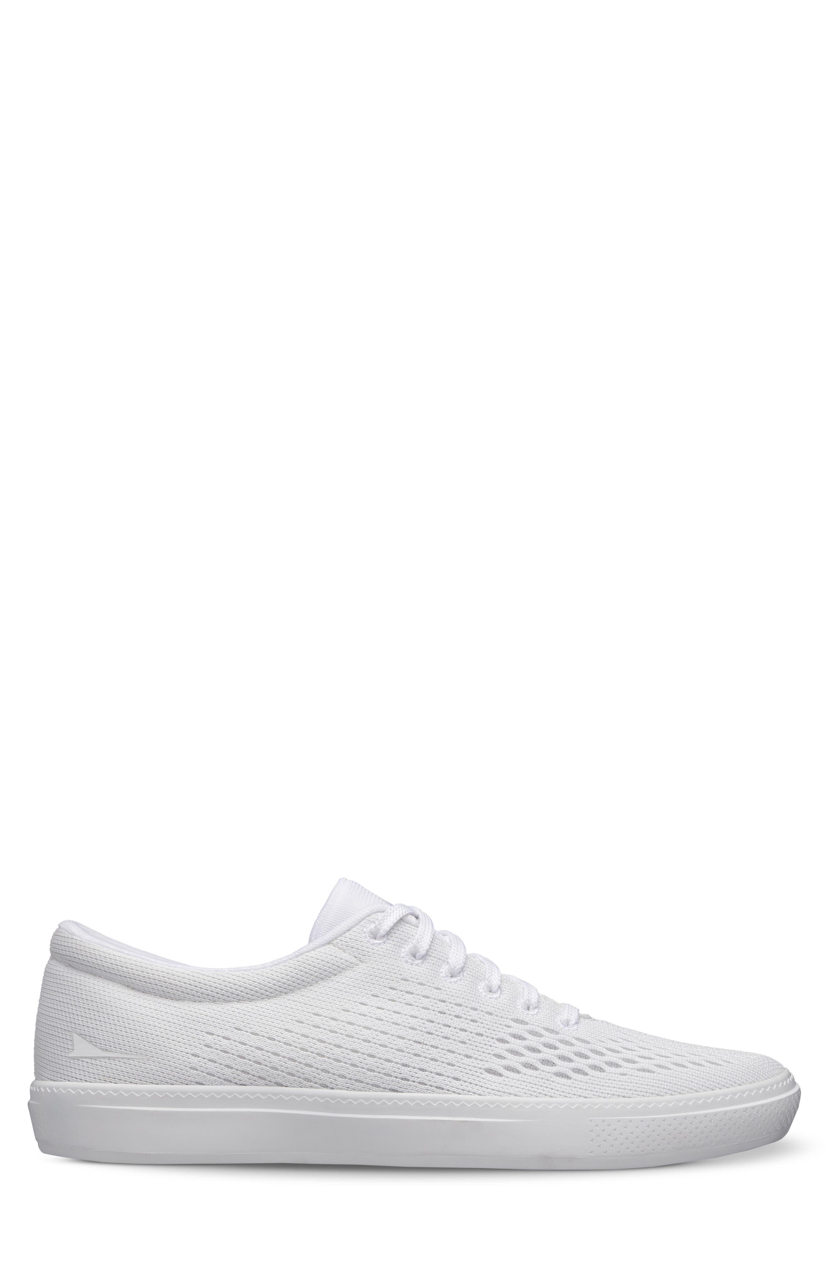August II Sneaker,                             Alternate thumbnail 3, color,                             WHITE