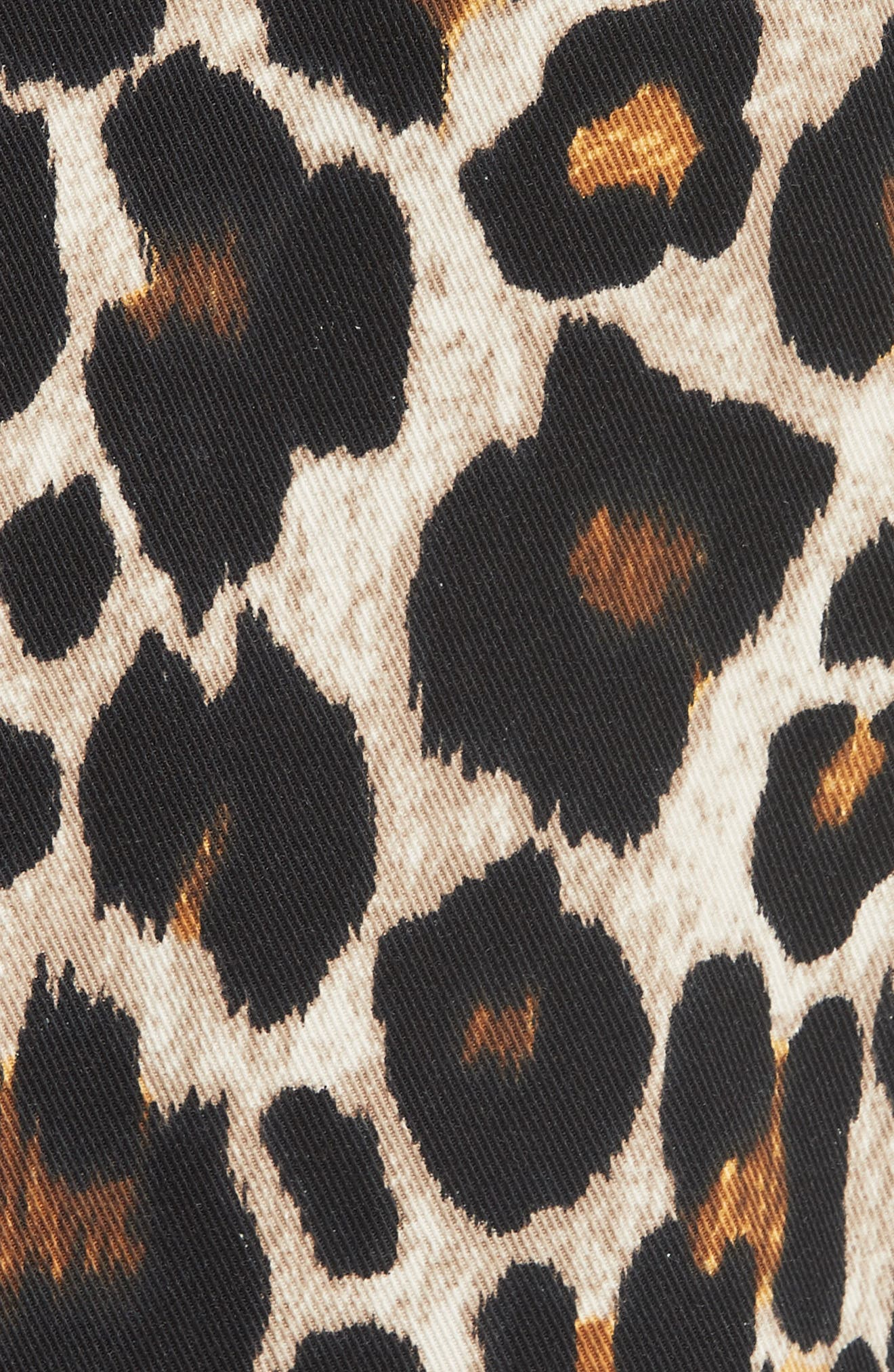 Leopard Print Jacket,                             Alternate thumbnail 6, color,                             200