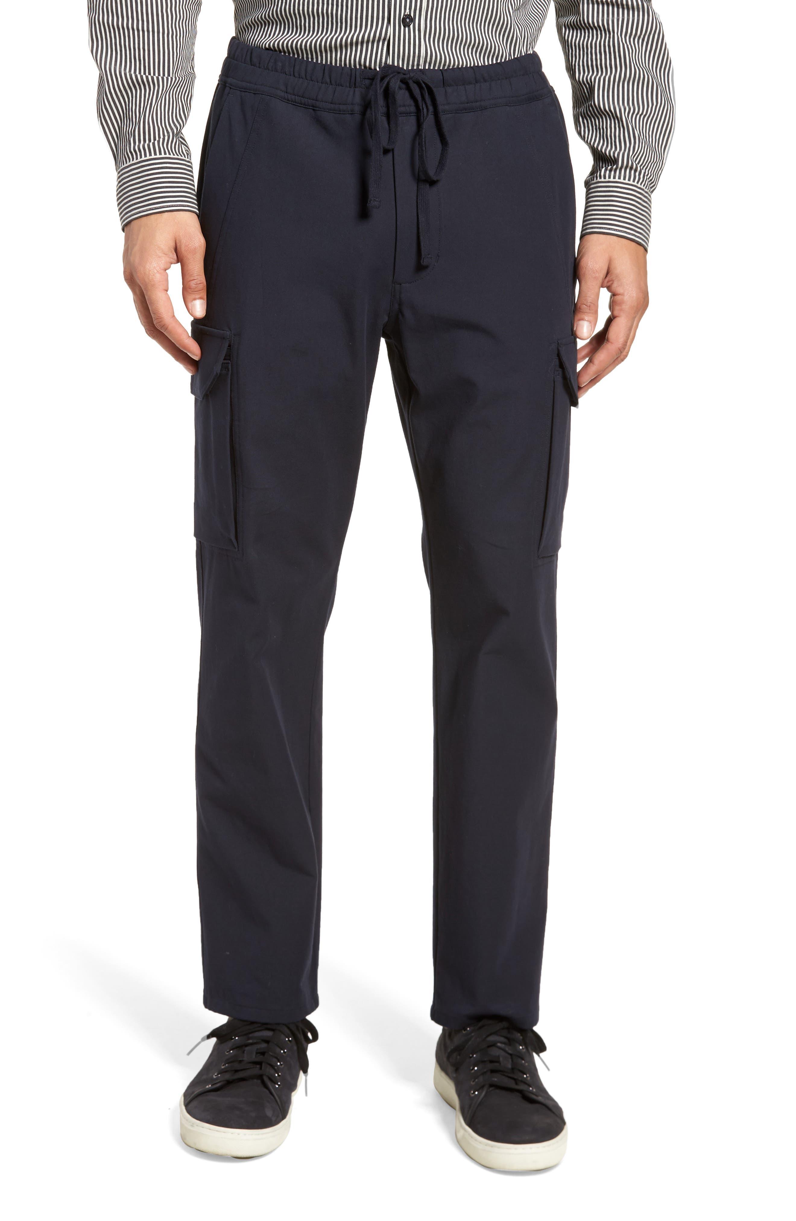 Regular Fit Drawstring Pants,                             Main thumbnail 1, color,