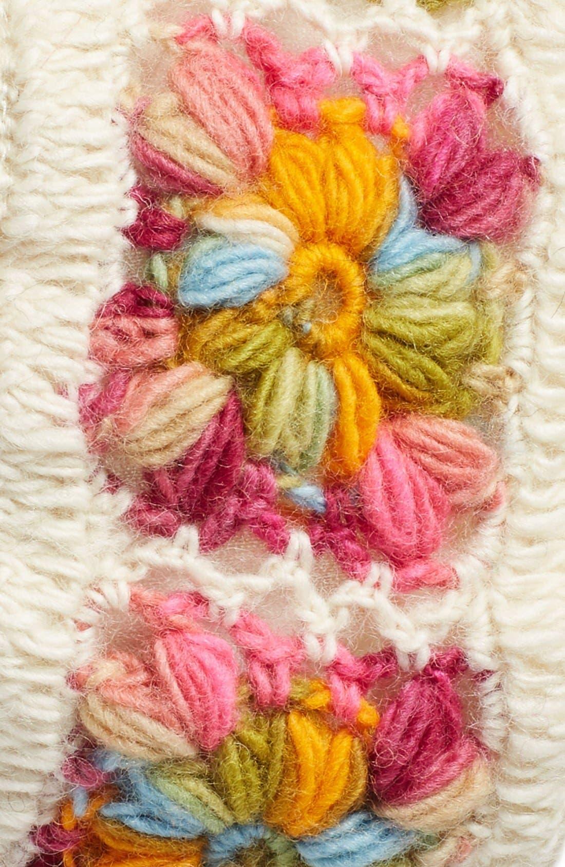 Crochet Ear Warmer Headband,                             Alternate thumbnail 16, color,