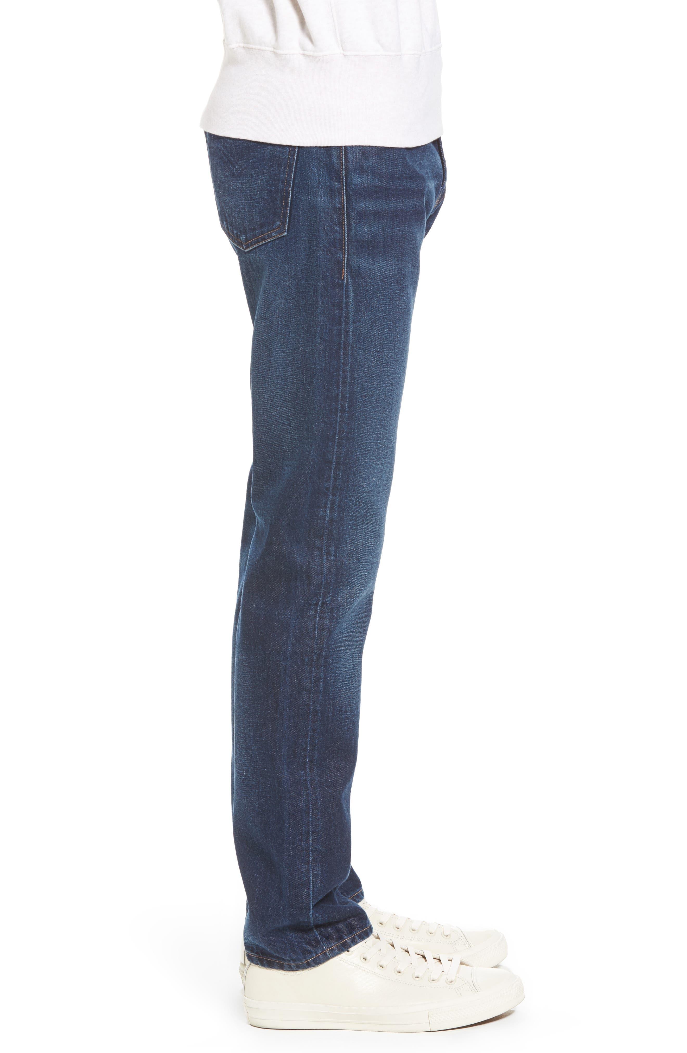 Tack Slim Fit Jeans,                             Alternate thumbnail 3, color,                             401