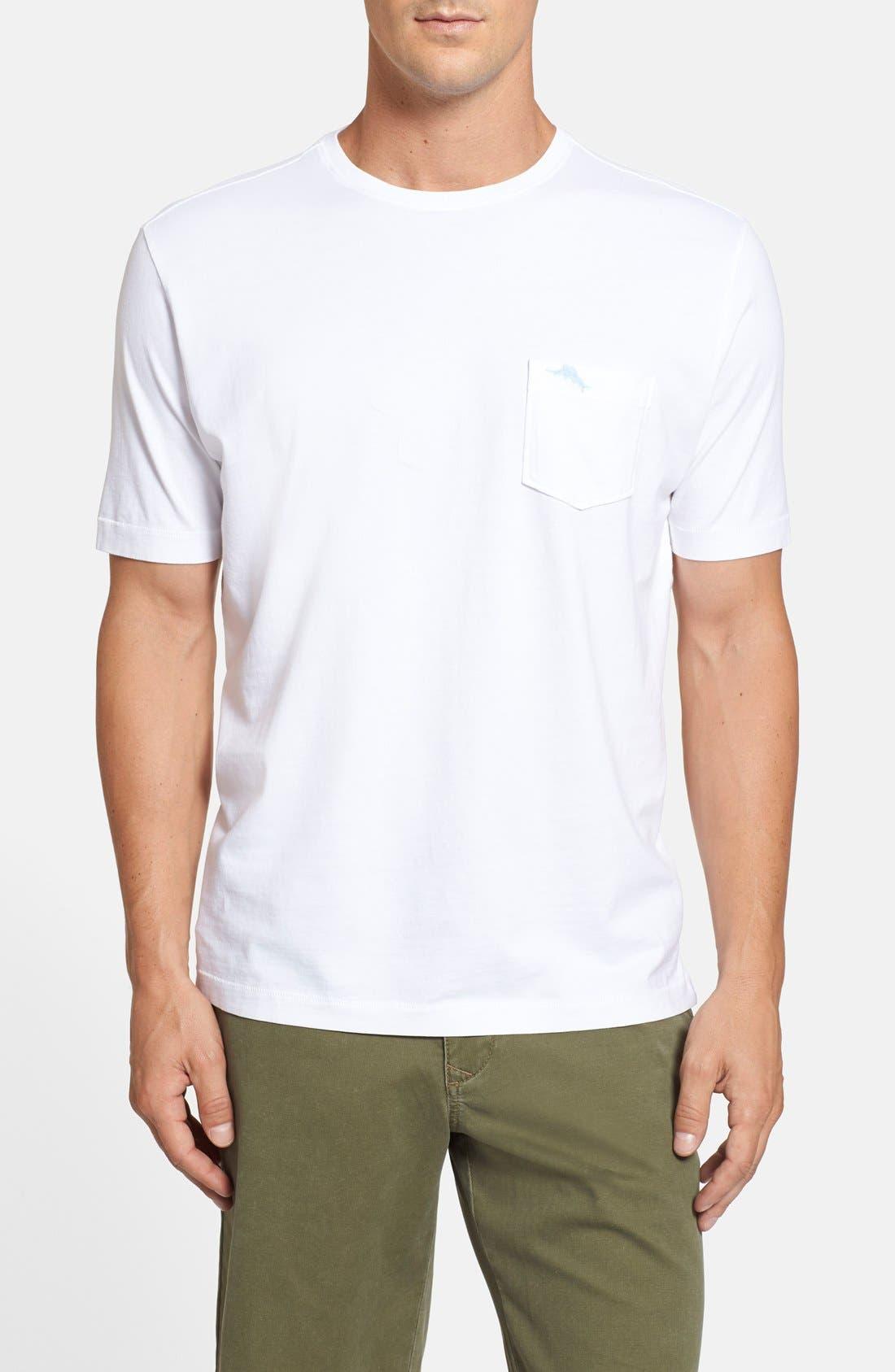 New Bali Sky Pima Cotton Pocket T-Shirt,                             Main thumbnail 9, color,