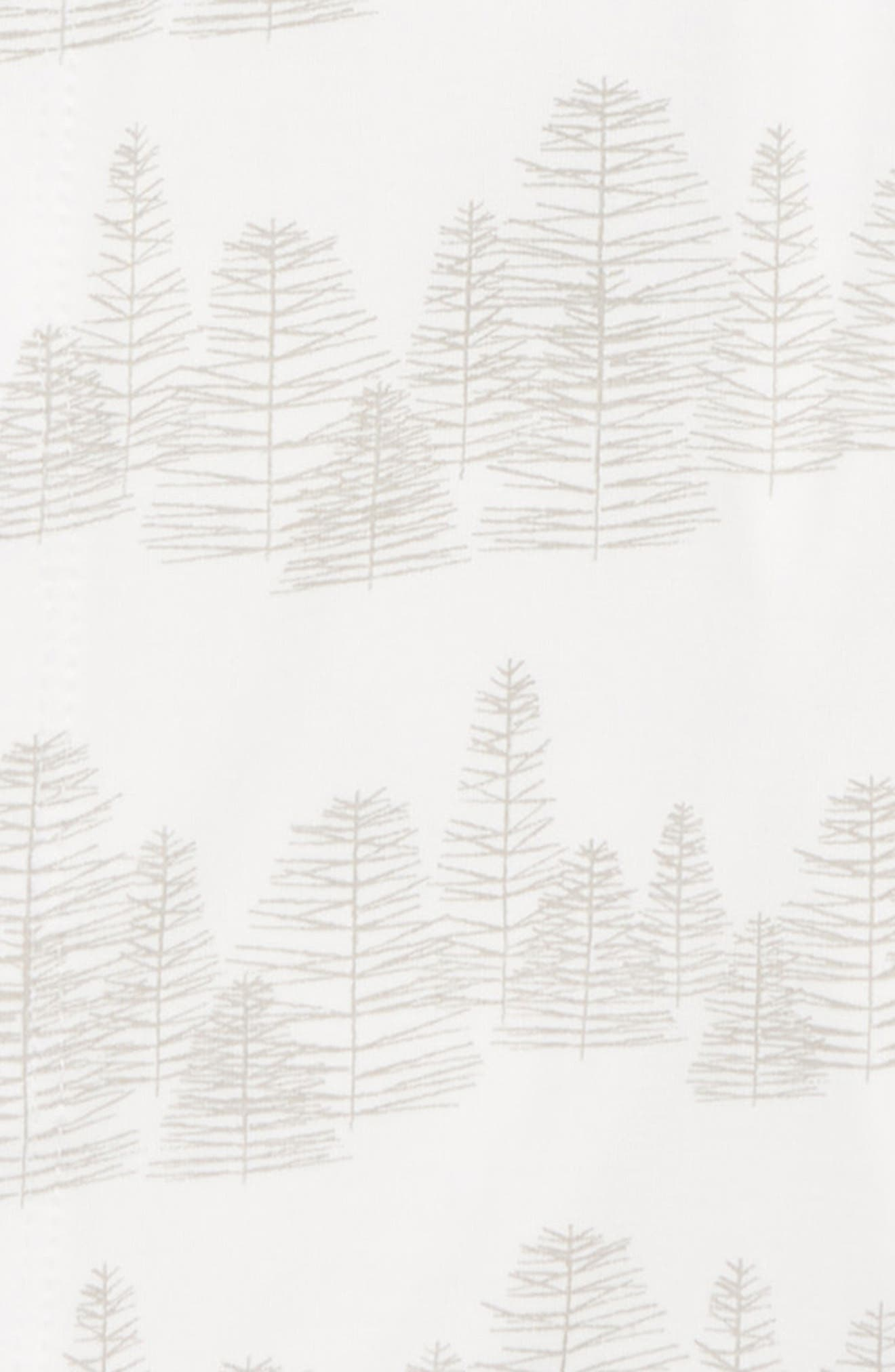 Print Gown & Hat Set,                             Alternate thumbnail 2, color,                             100
