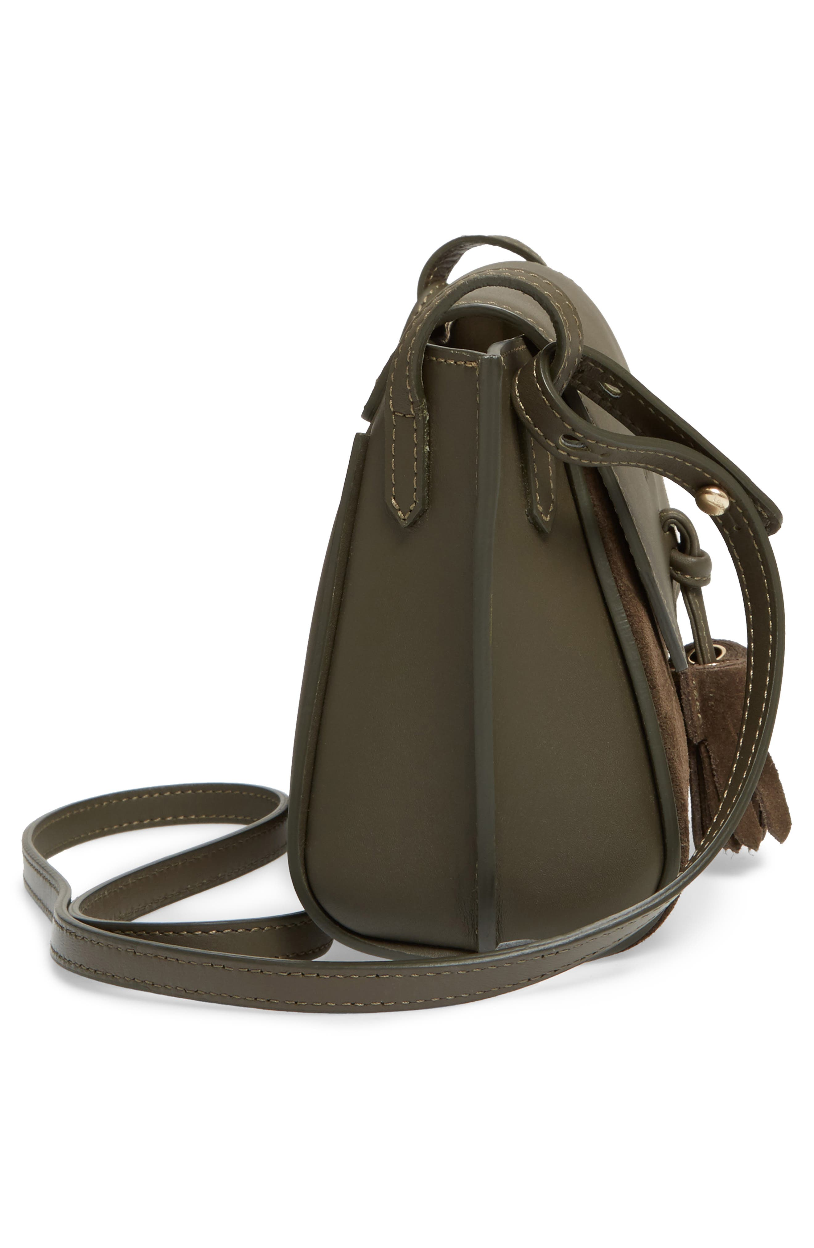 Small Penelope Leather Crossbody Bag,                             Alternate thumbnail 5, color,
