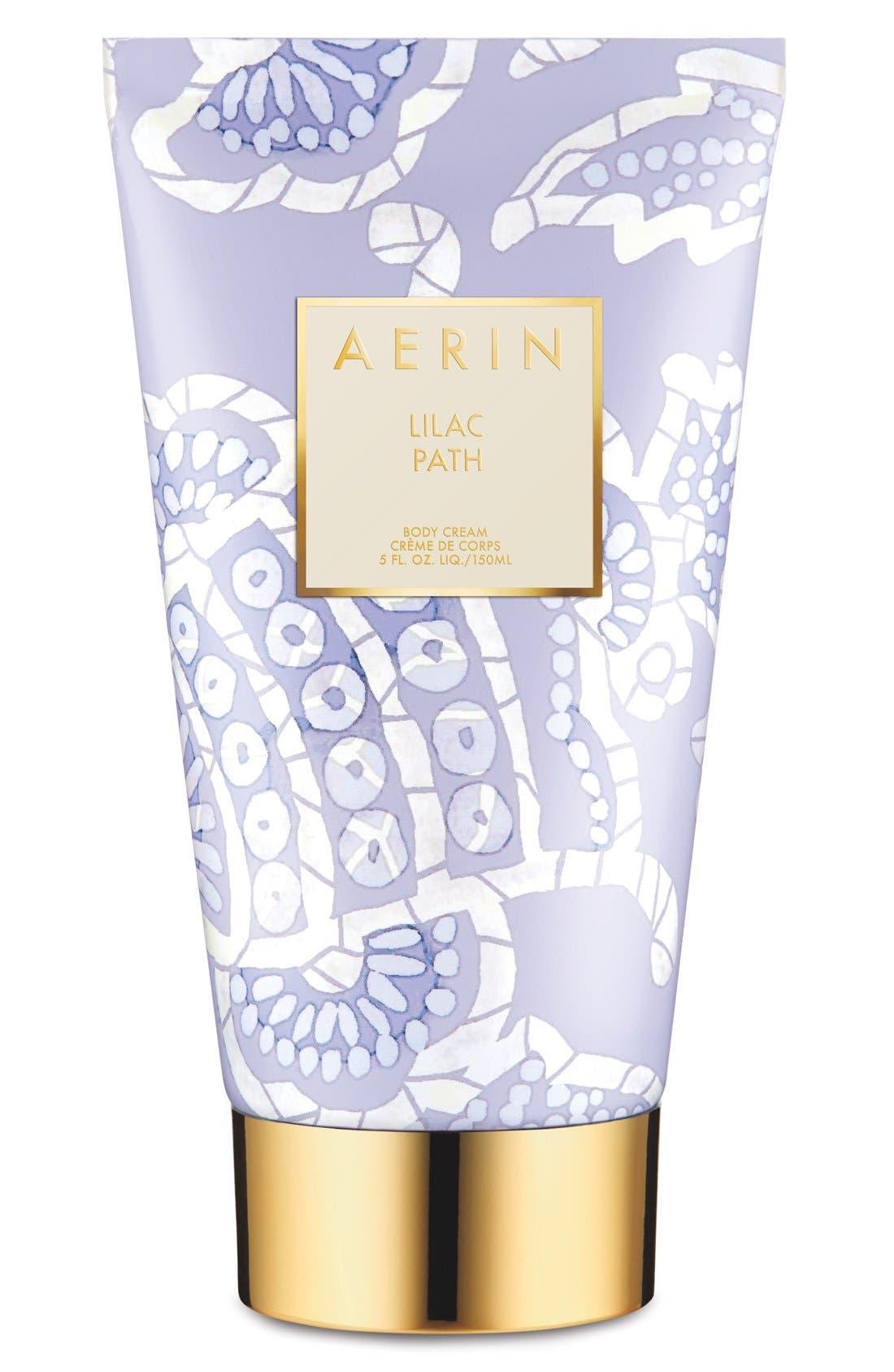 AERIN Beauty Lilac Path Body Cream,                             Main thumbnail 1, color,                             NO COLOR