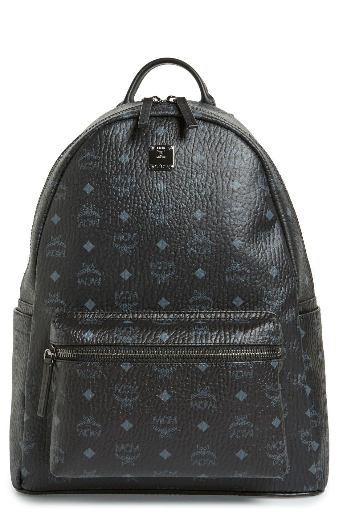 Medium Stark - Visetos Backpack,                         Main,                         color, BLACK