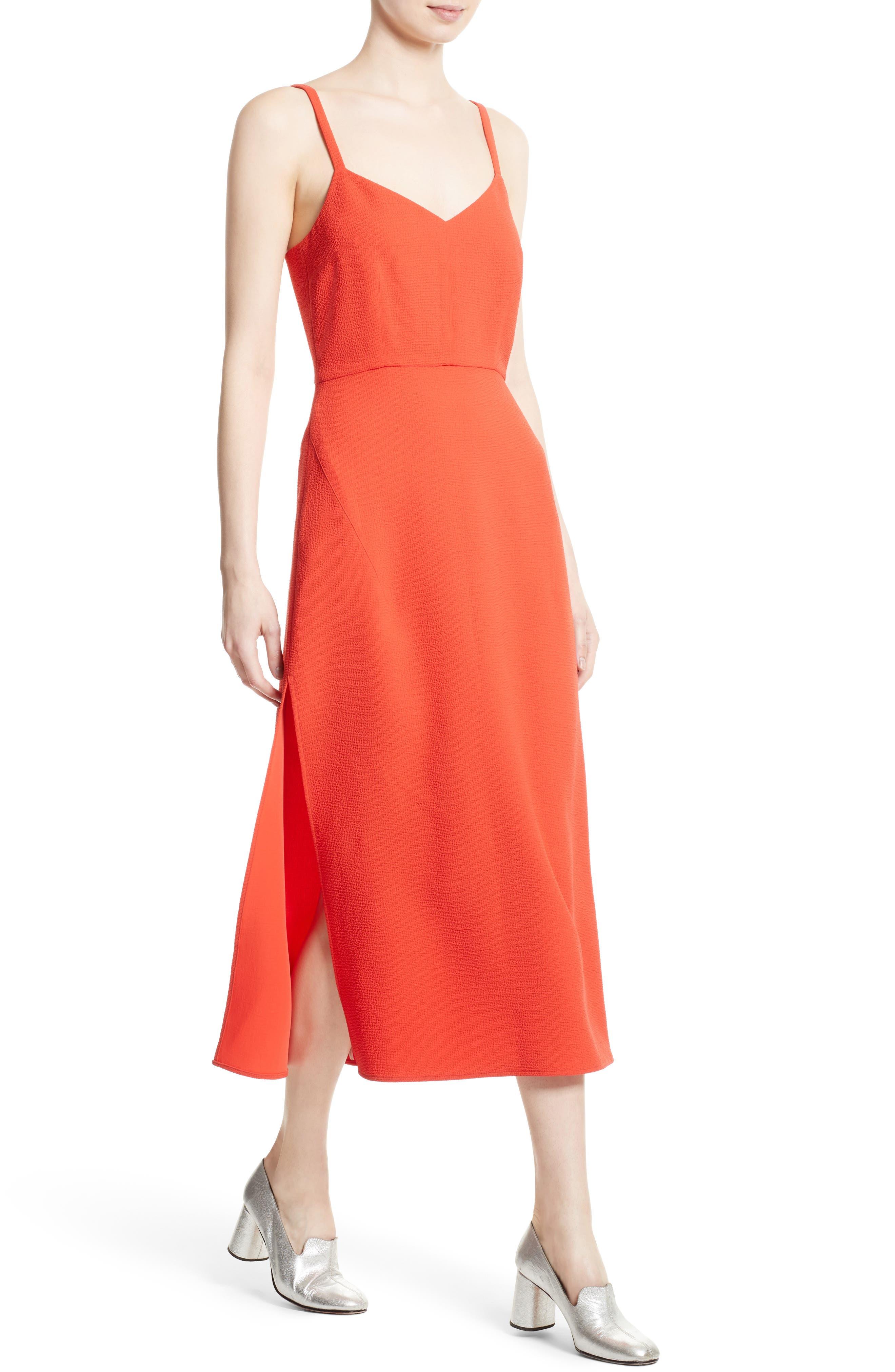 Agitator Midi Dress,                             Alternate thumbnail 4, color,                             950