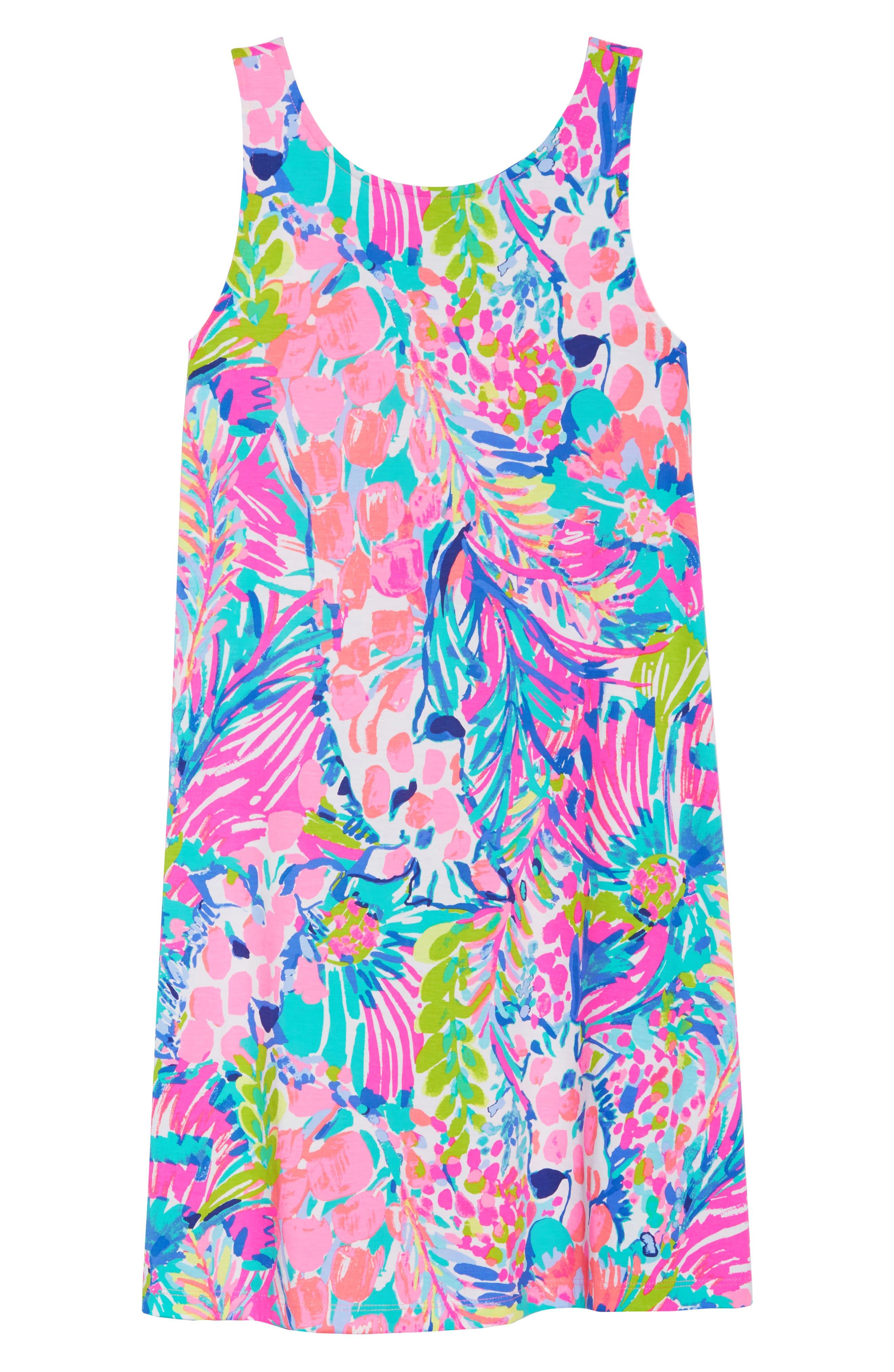 Kristen Trapeze Dress,                             Alternate thumbnail 7, color,