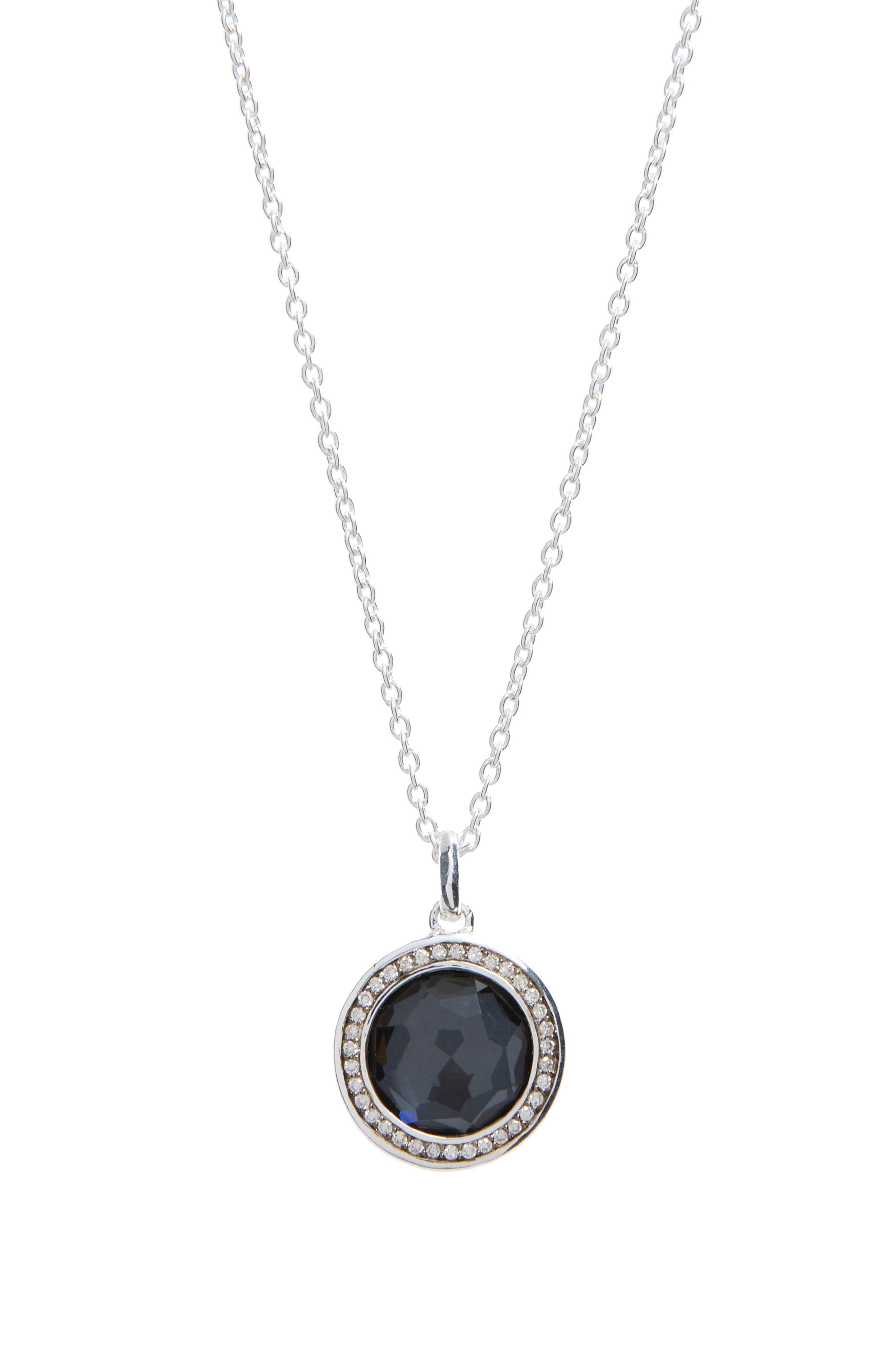 'Stella' Small Pendant Necklace,                         Main,                         color, 040