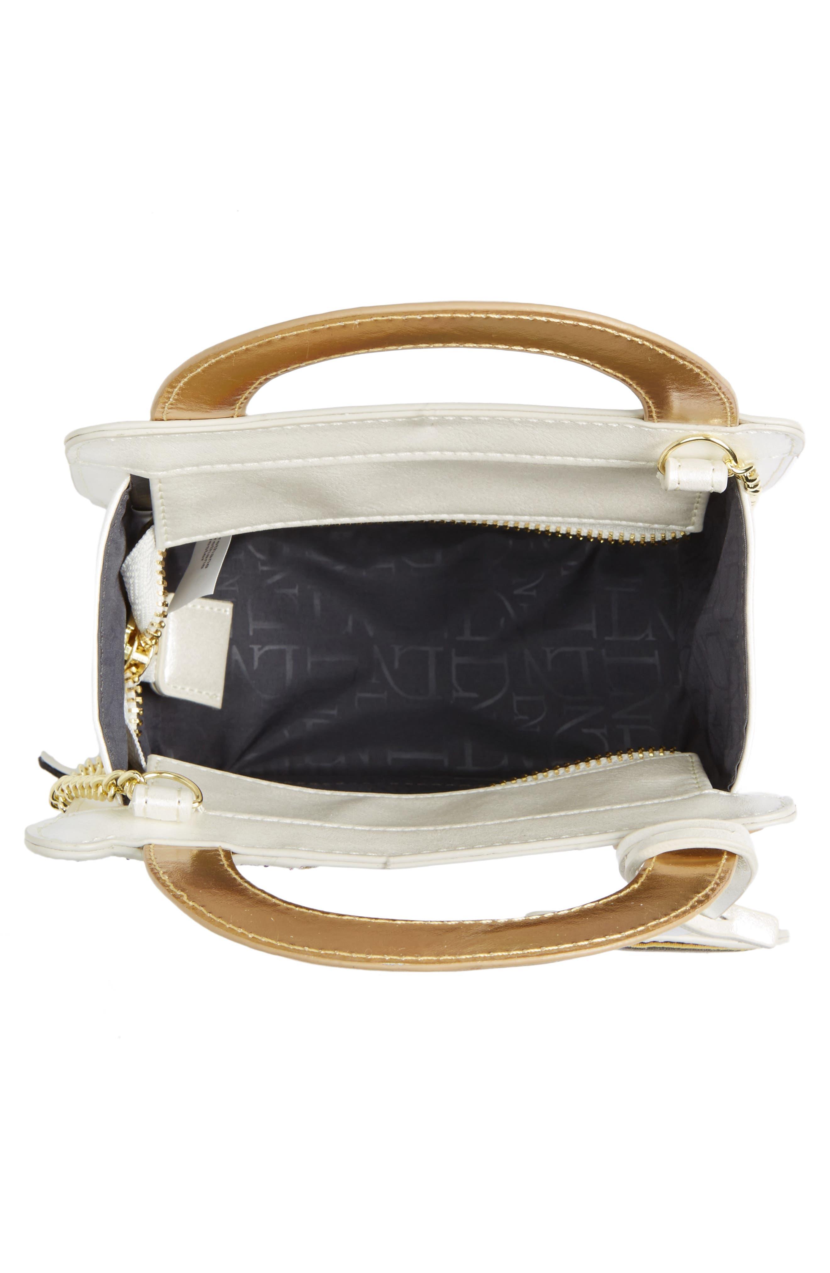 DANIELLE NICOLE,                             x Disney<sup>®</sup> Mrs. Potts & Chip Faux Leather Crossbody Bag,                             Alternate thumbnail 4, color,                             040