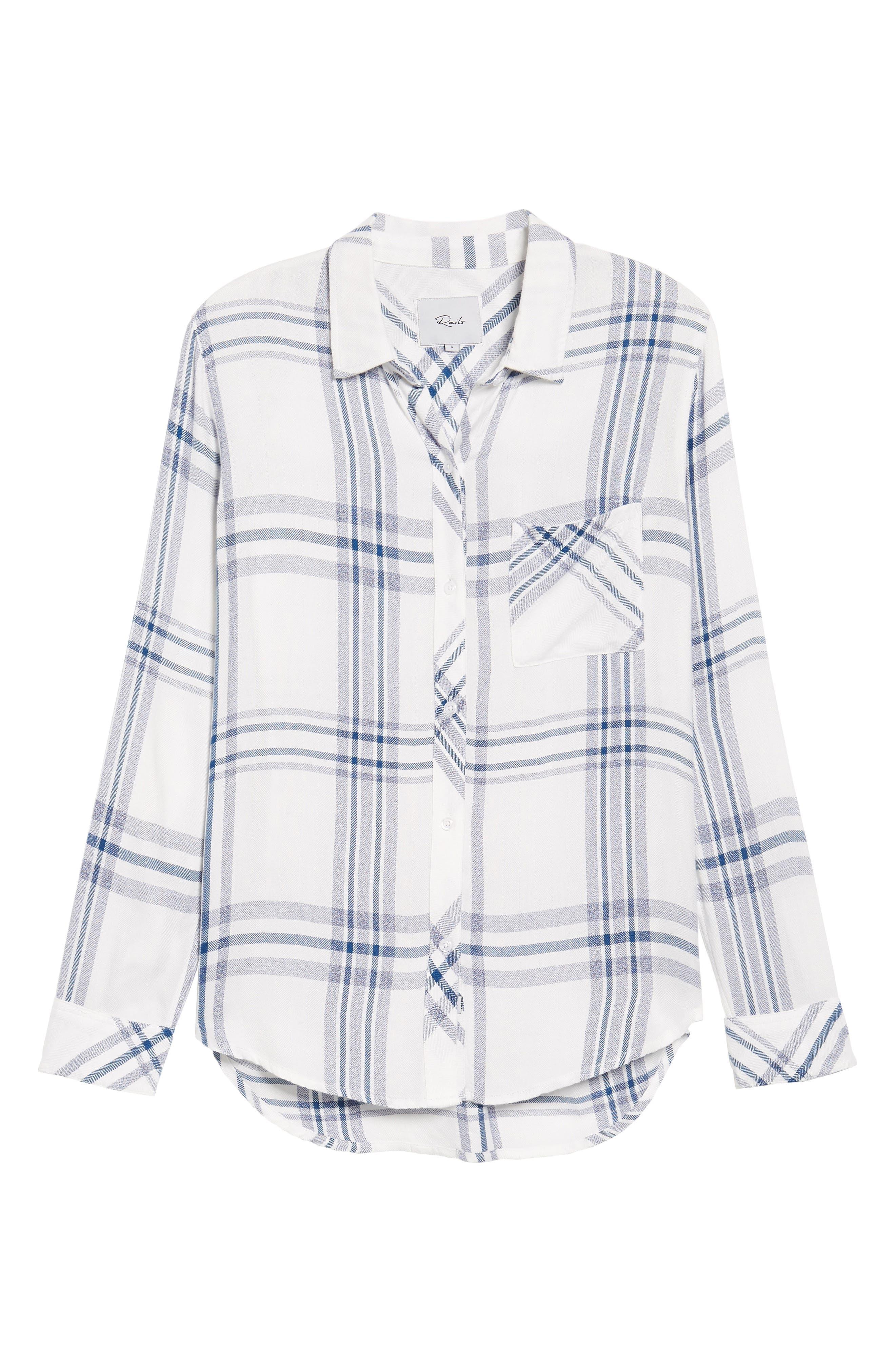 Hunter Plaid Shirt,                             Alternate thumbnail 703, color,