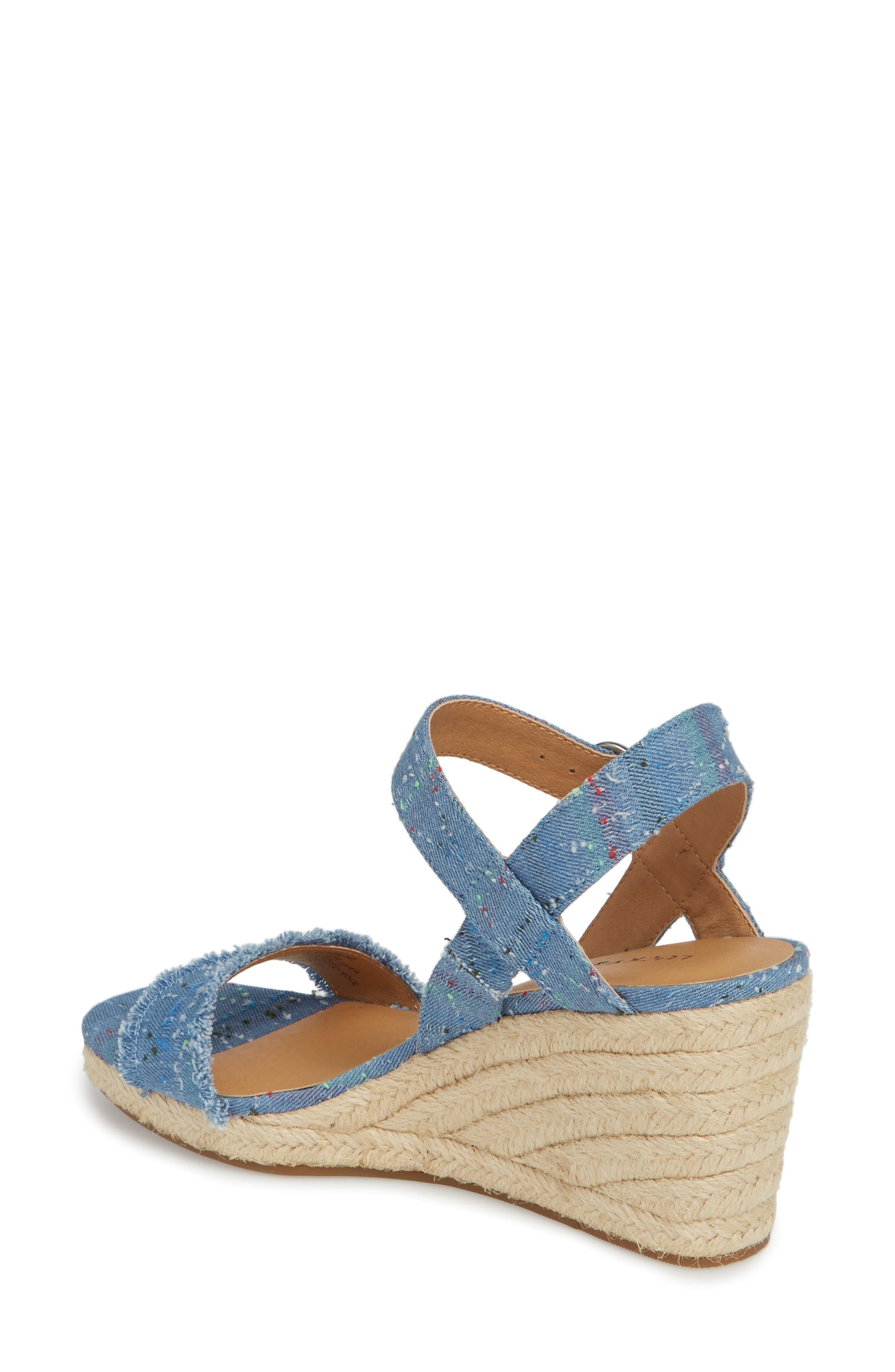 Marceline Squared Toe Wedge Sandal,                             Alternate thumbnail 12, color,
