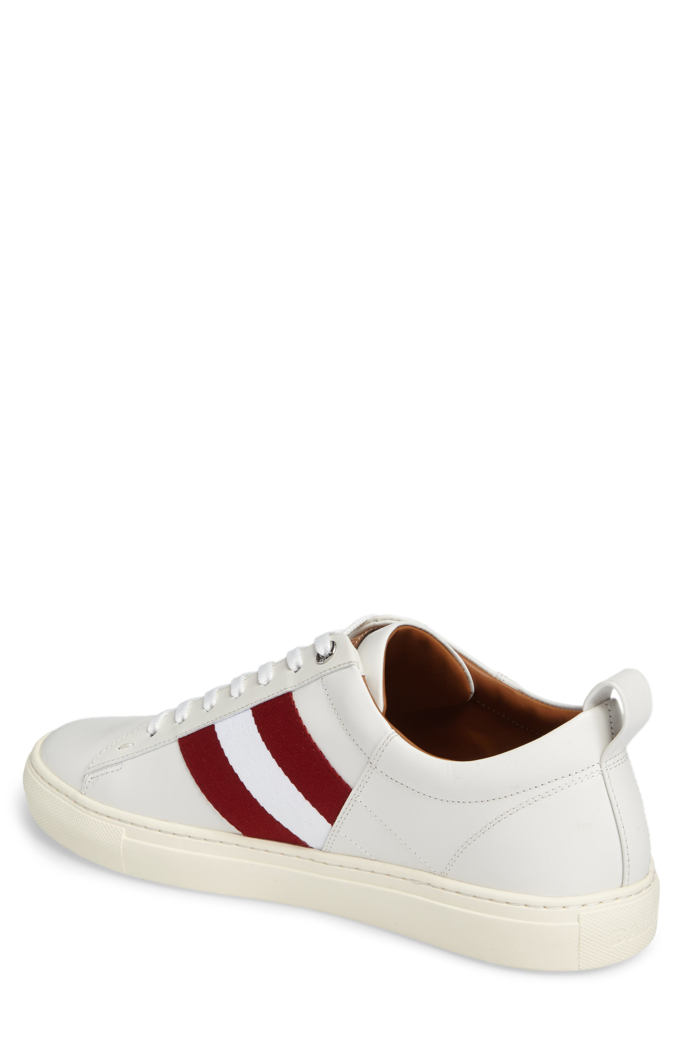 'Helvio' Sneaker,                             Alternate thumbnail 2, color,                             WHITE