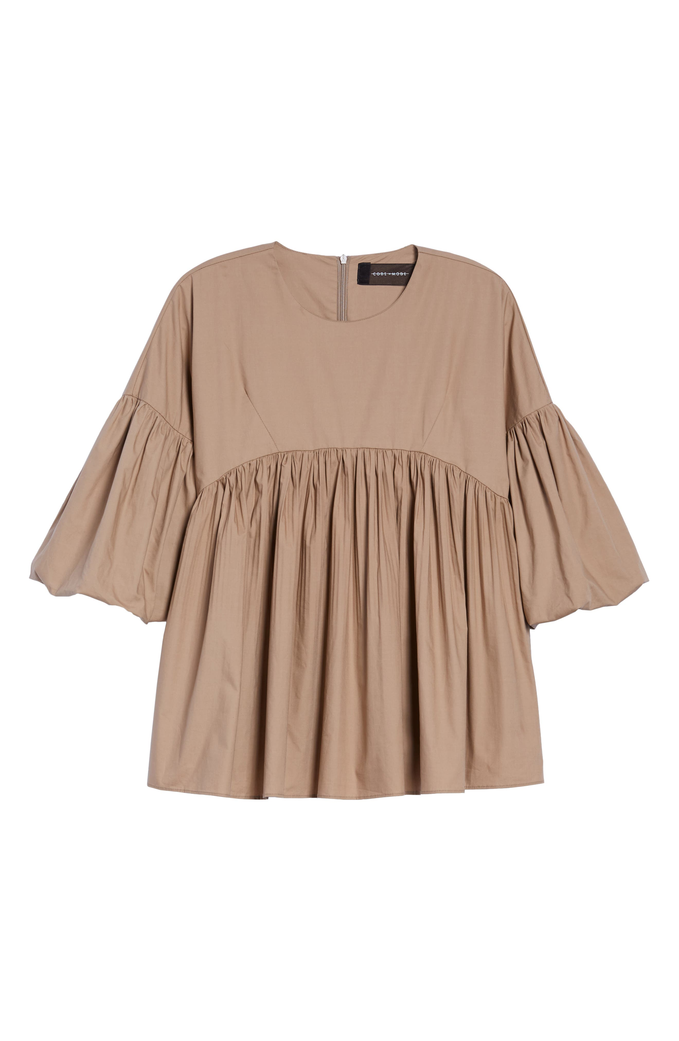 Pleated Swing Top,                             Alternate thumbnail 6, color,                             250