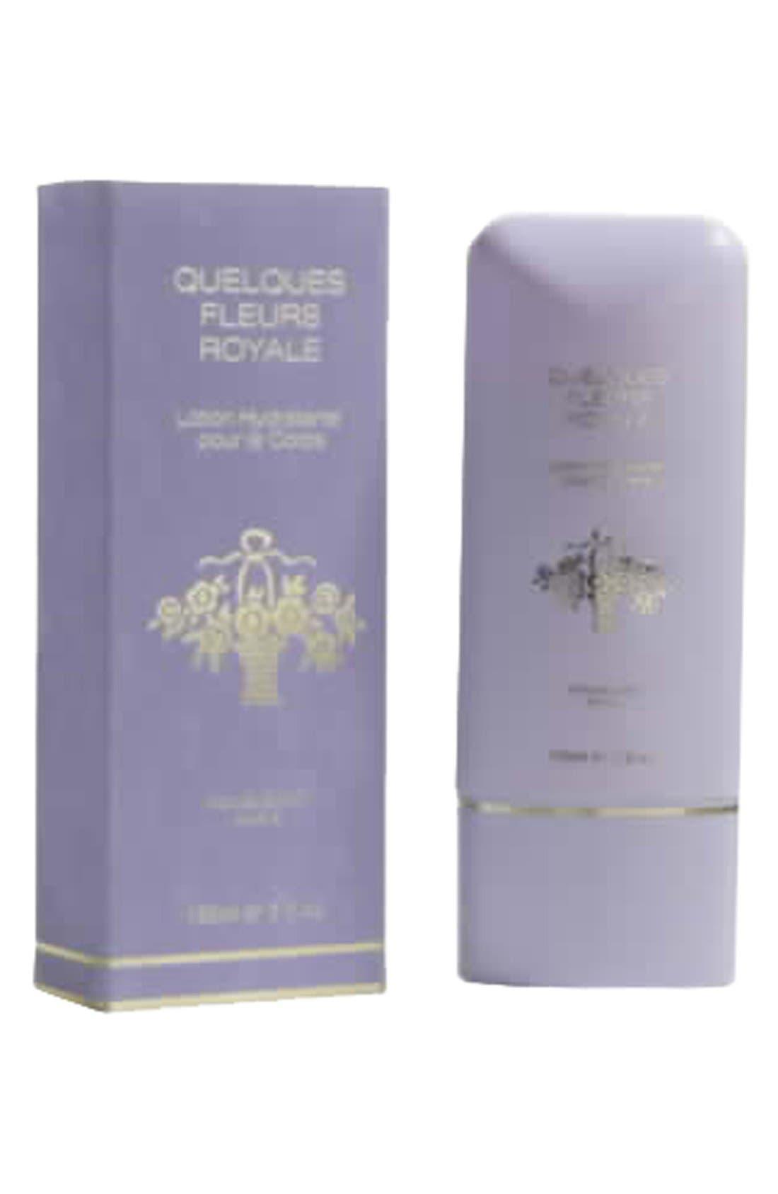 Quelques Fleurs 'Royale' Perfumed Body Lotion,                             Alternate thumbnail 2, color,                             NO COLOR