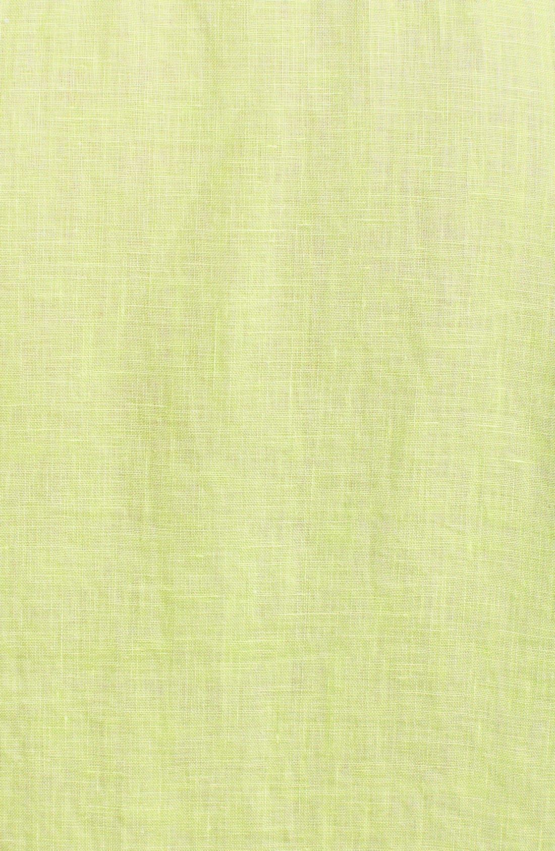 Seaglass Breezer Short Sleeve Linen Sport Shirt,                             Alternate thumbnail 42, color,
