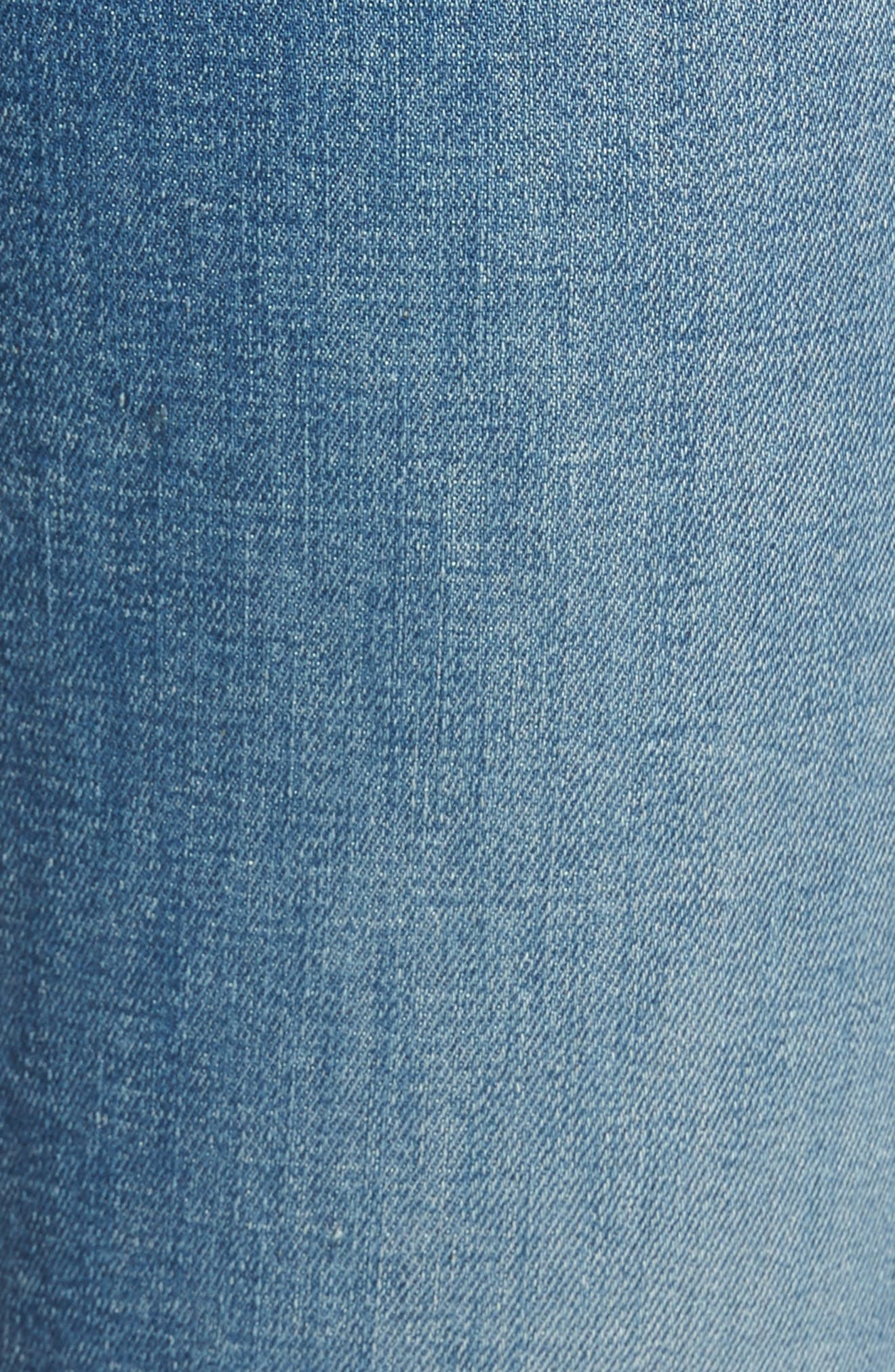 Dylan Straight Leg Jeans,                             Alternate thumbnail 6, color,                             400