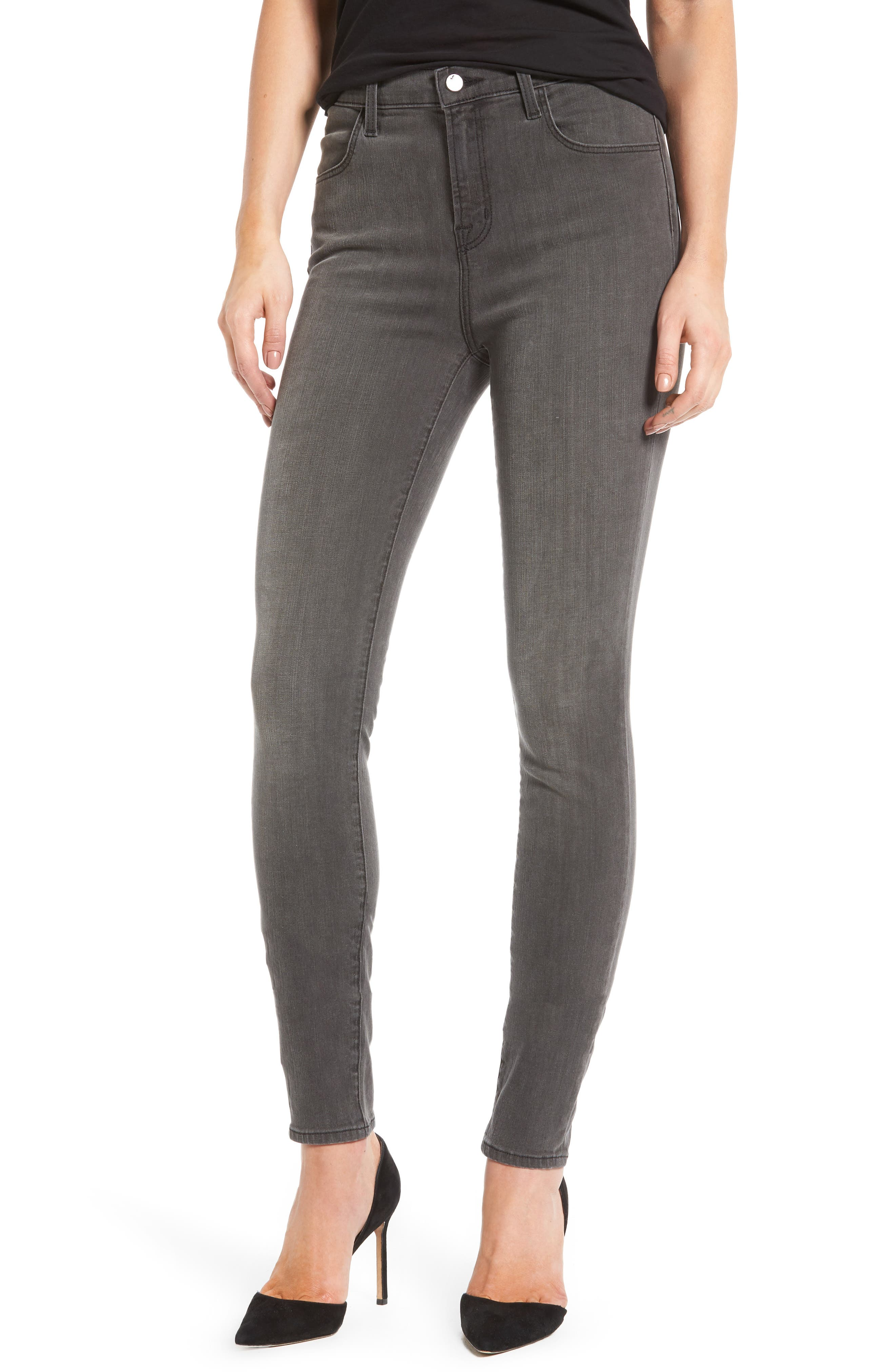 Maria High Waist Skinny Jeans,                             Main thumbnail 3, color,