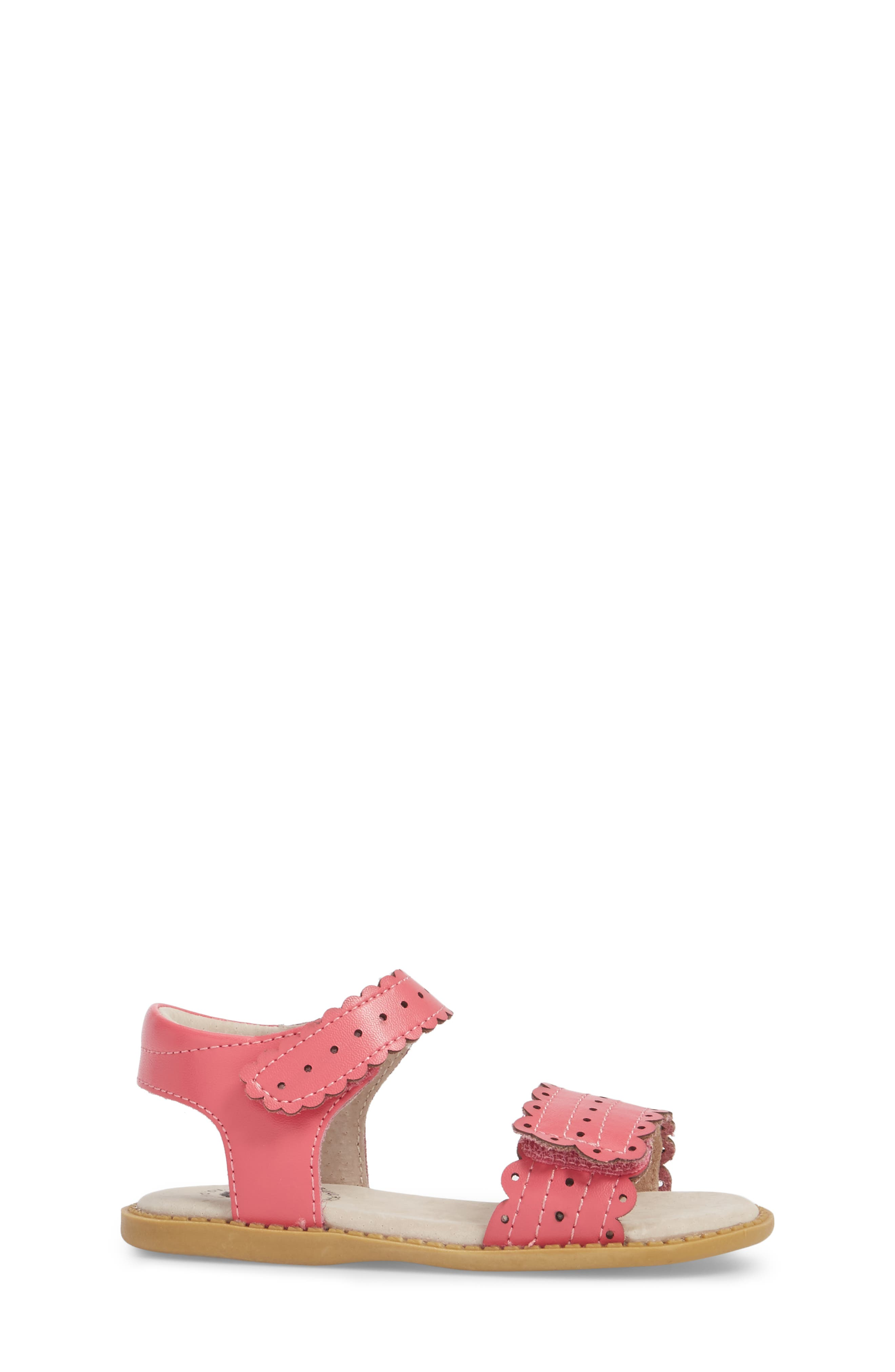 Posey Sandal,                             Alternate thumbnail 3, color,                             ROSY PINK