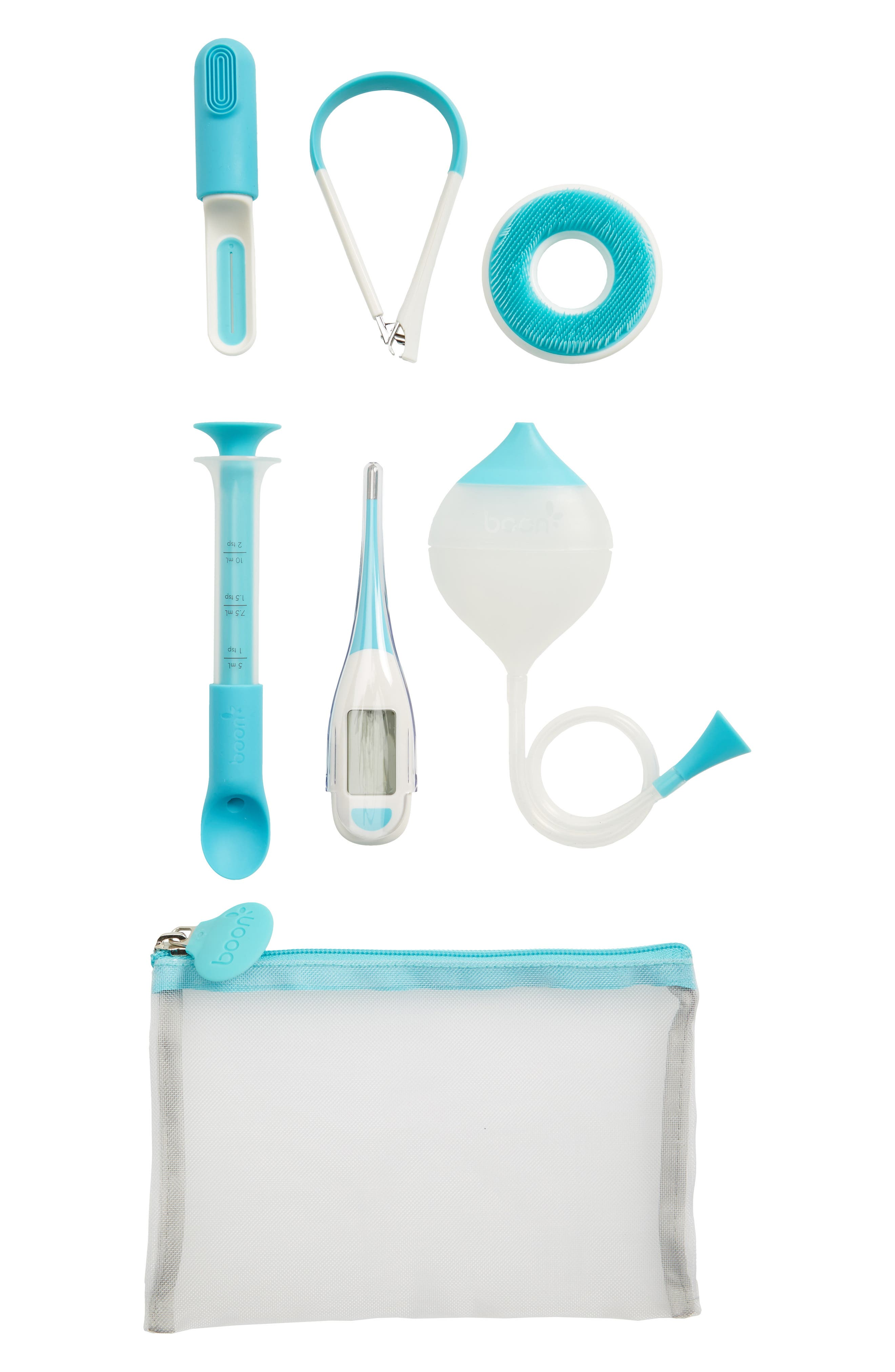 Infant Boon Care 6Piece Health  Grooming Kit Size One Size  White