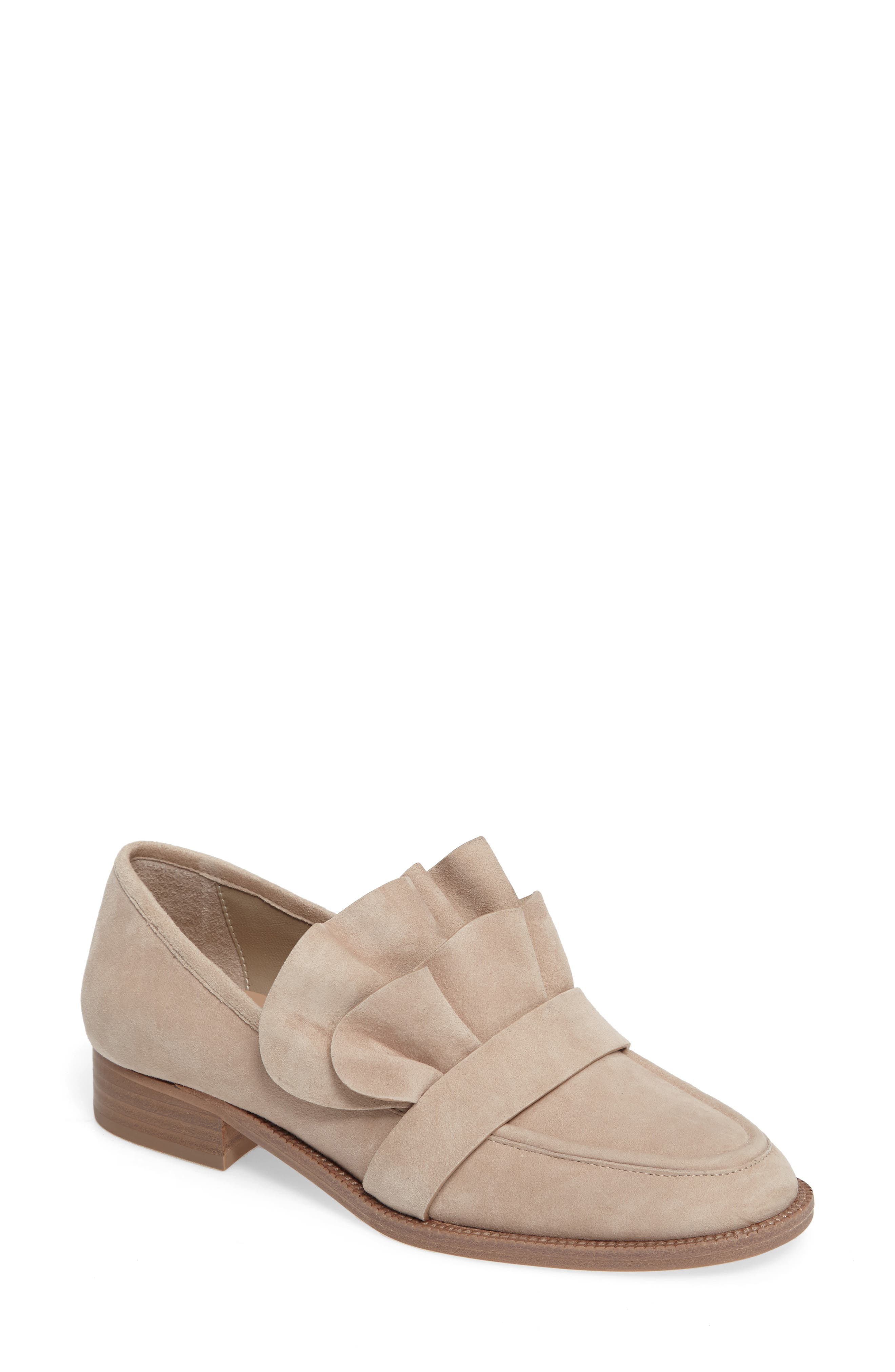 Tenley Ruffled Loafer,                             Main thumbnail 3, color,