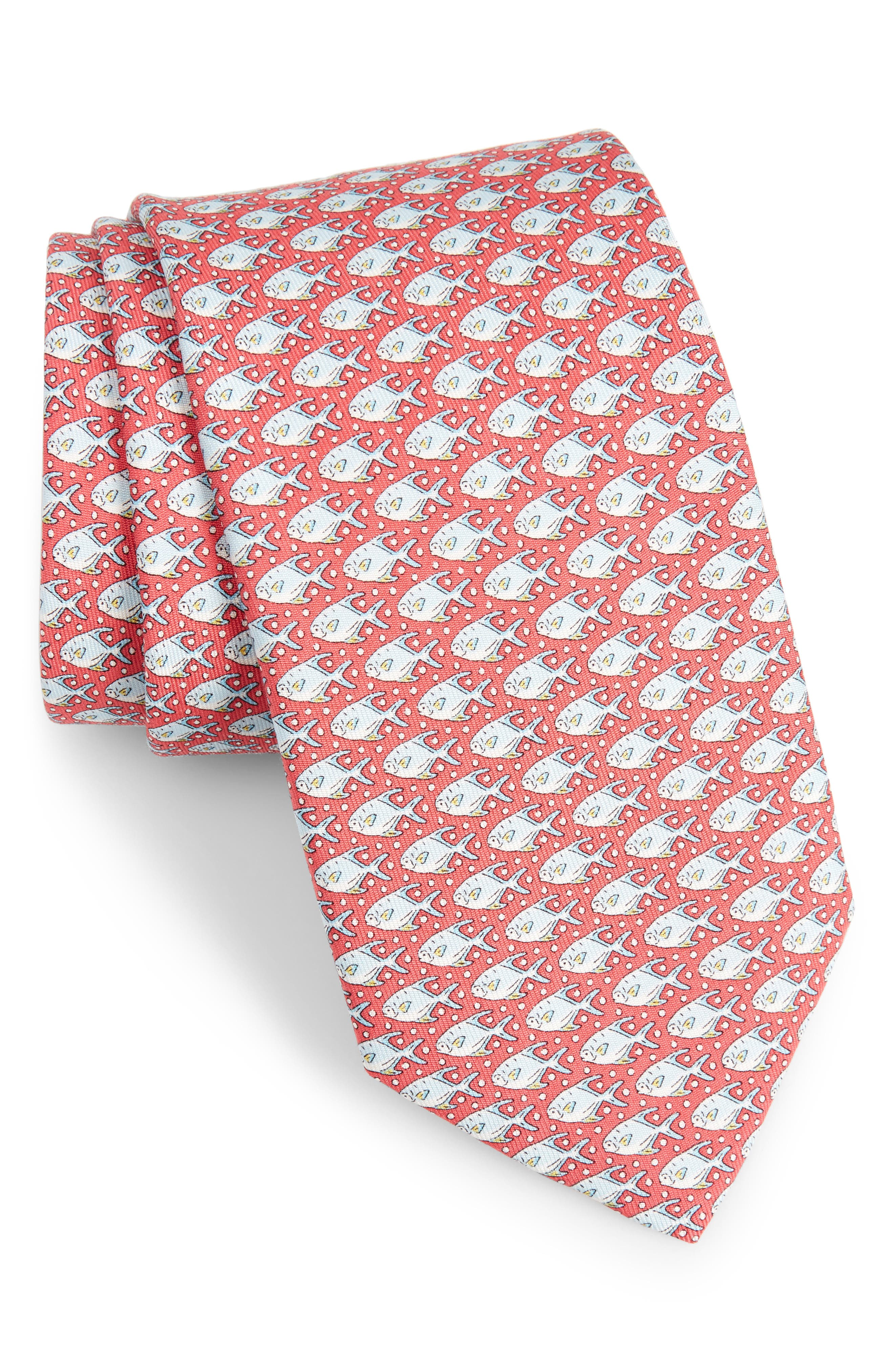 Permit & Bubble Silk Tie,                             Main thumbnail 4, color,
