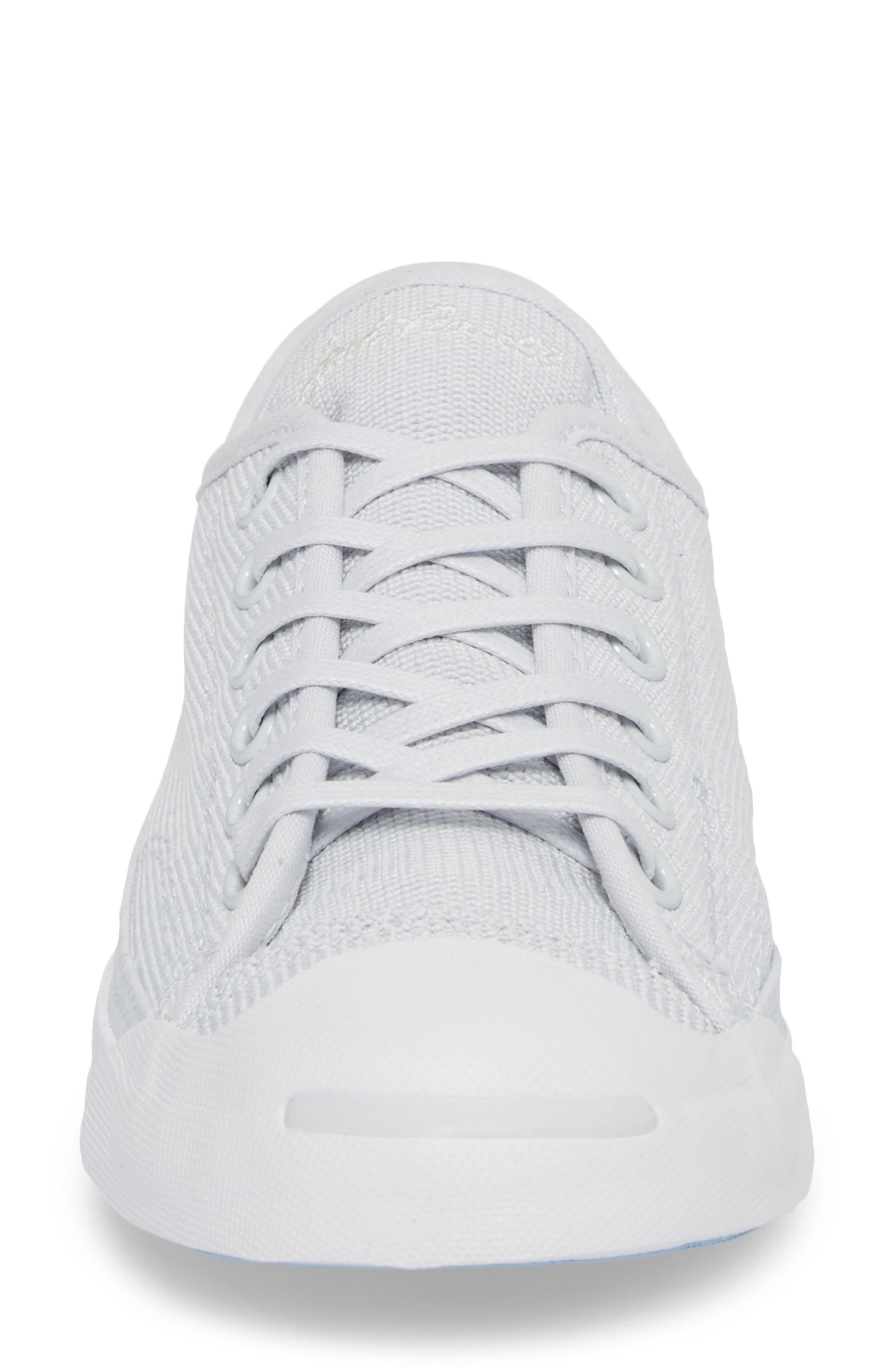 Jack Purcell Low Top Sneaker,                             Alternate thumbnail 4, color,                             PURE PLATINUM