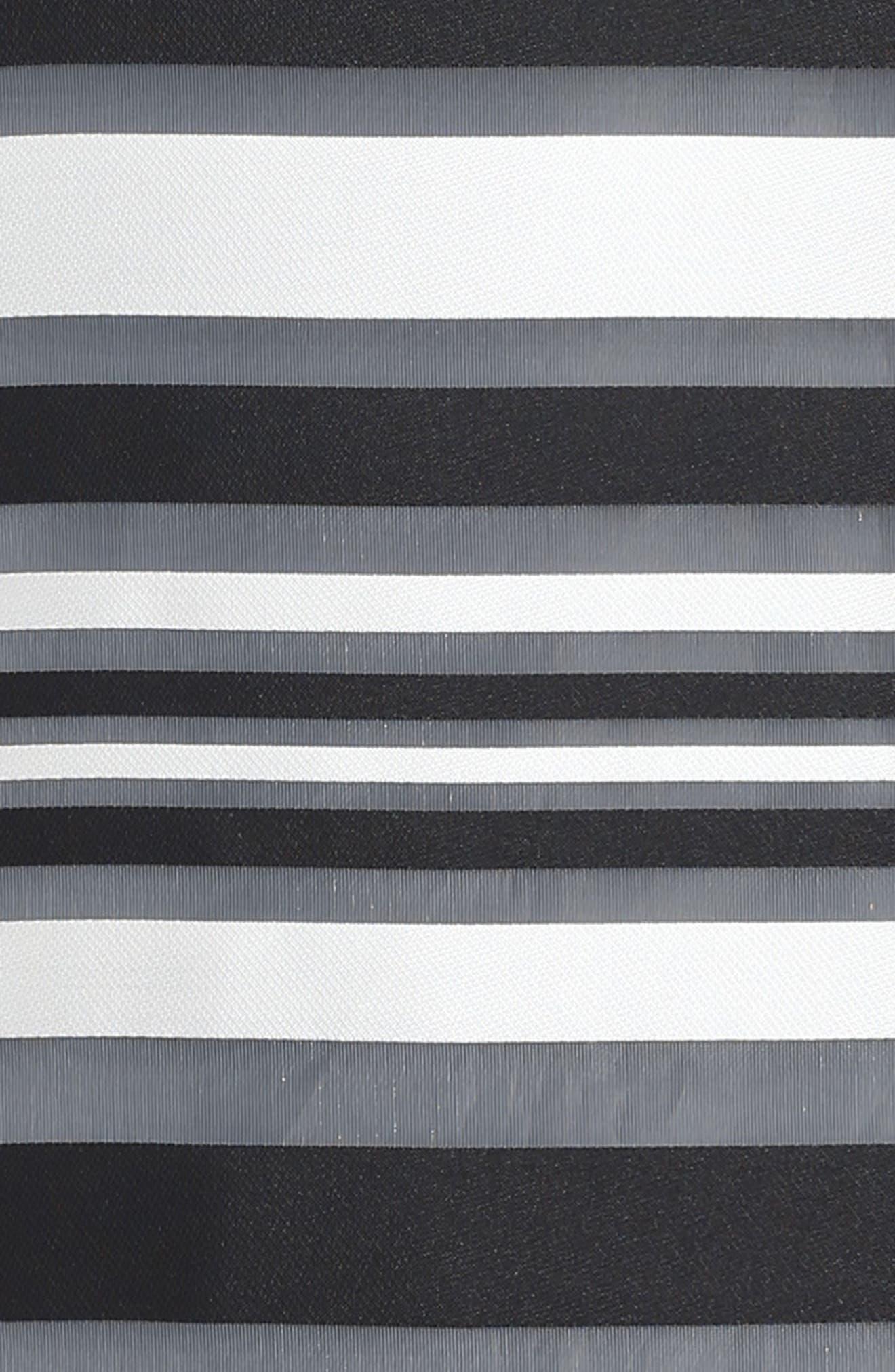 Chloe Illusion Stripe Shift Dress,                             Alternate thumbnail 3, color,