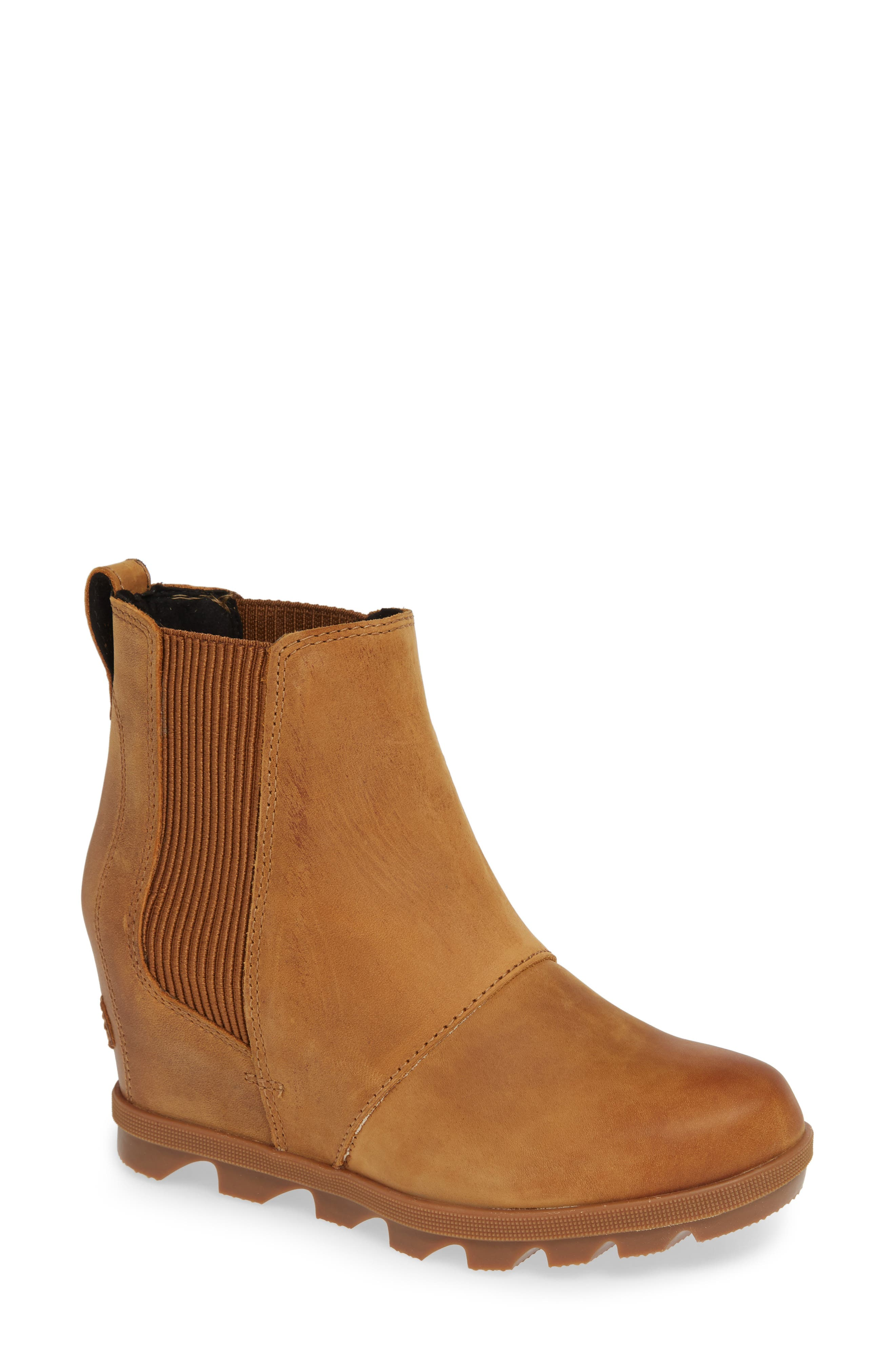 Sorel Joan Of Arctic Ii Waterproof Wedge Bootie- Brown