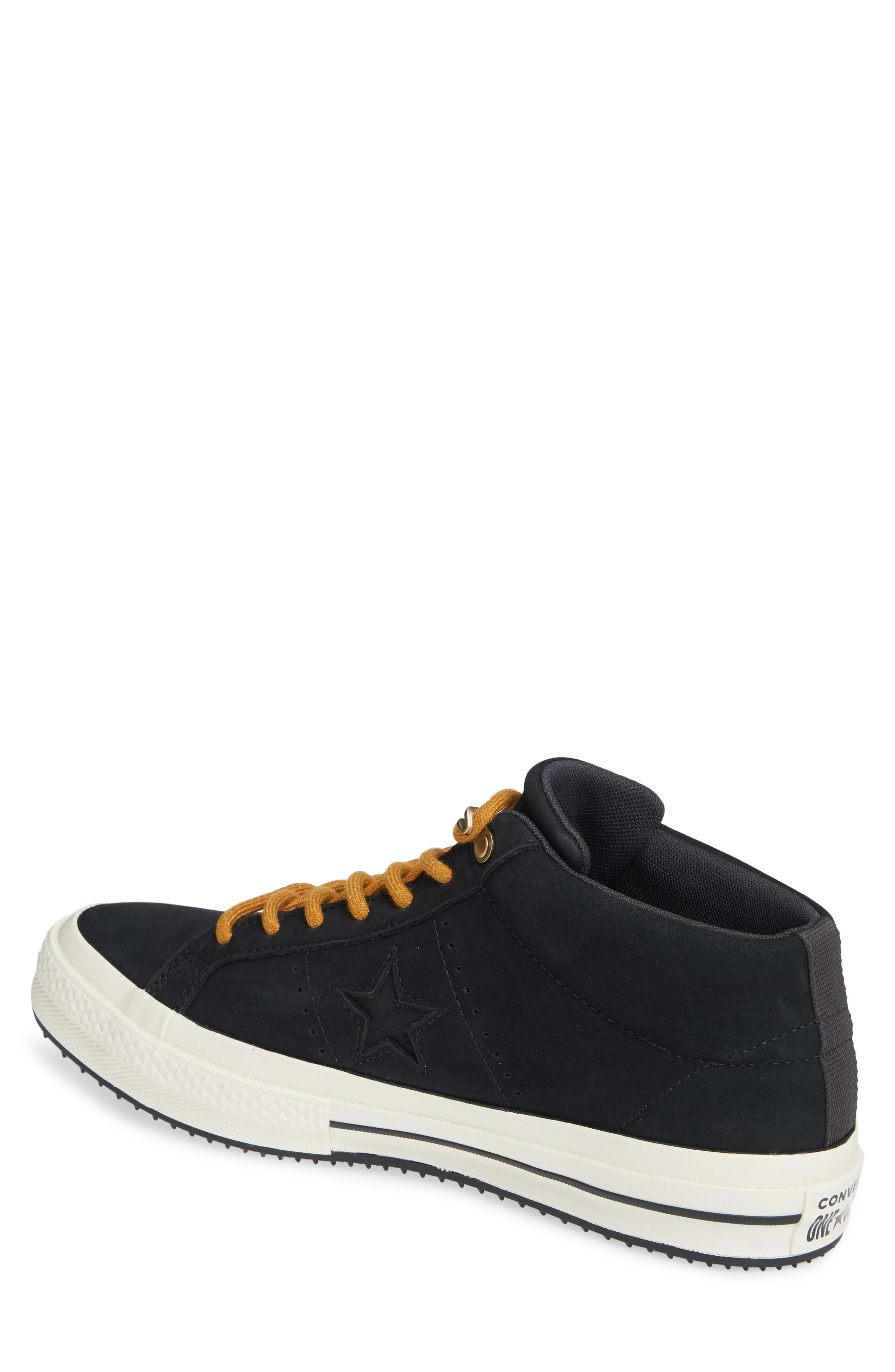 One Star Mid Counter Climate Scout Sneaker,                             Alternate thumbnail 2, color,                             BLACK/ BLUE HERO/ TEAK SUEDE