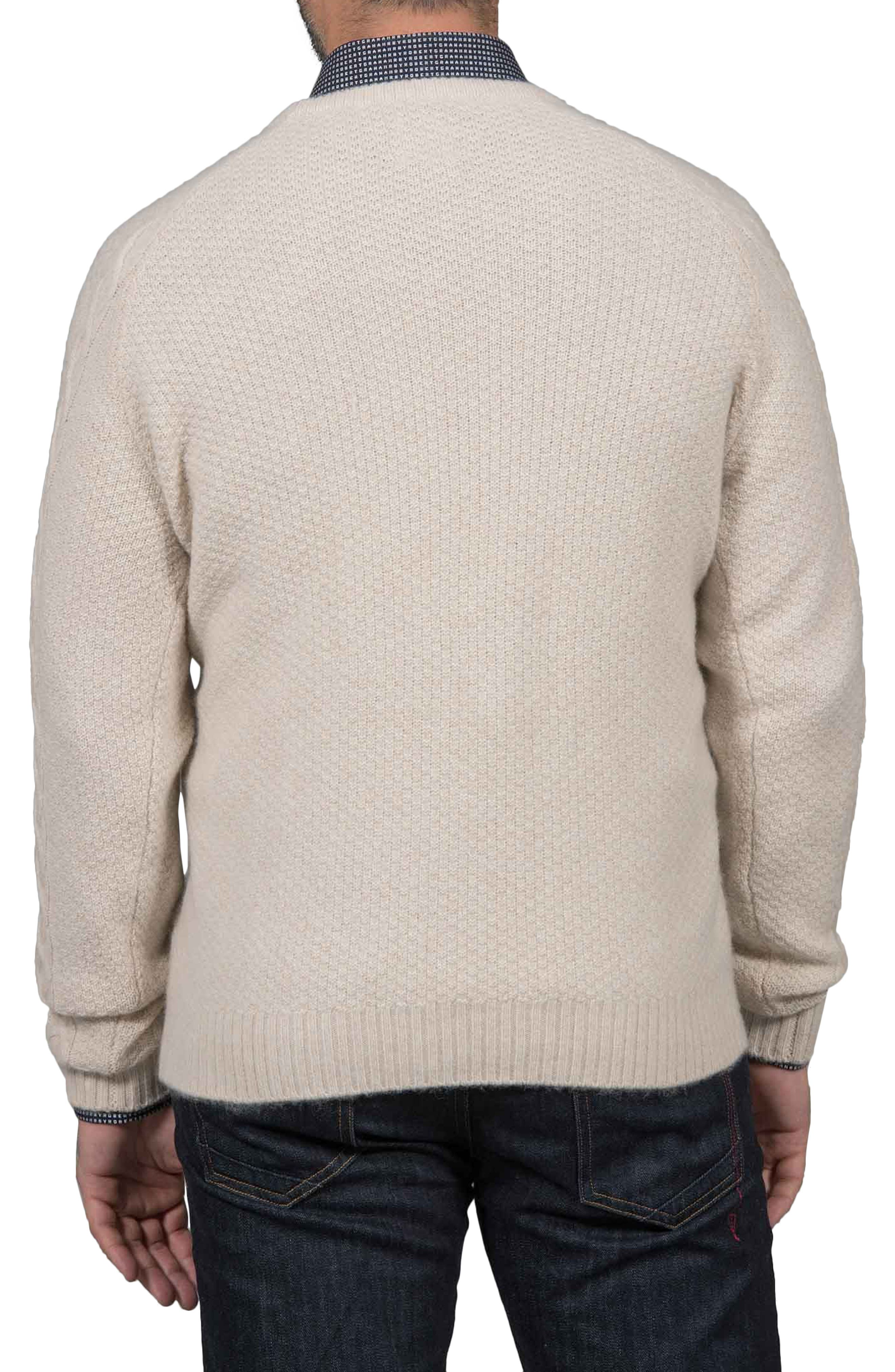 Slim Fit Fortitude Cashmere Sweater,                             Alternate thumbnail 2, color,                             CREAM
