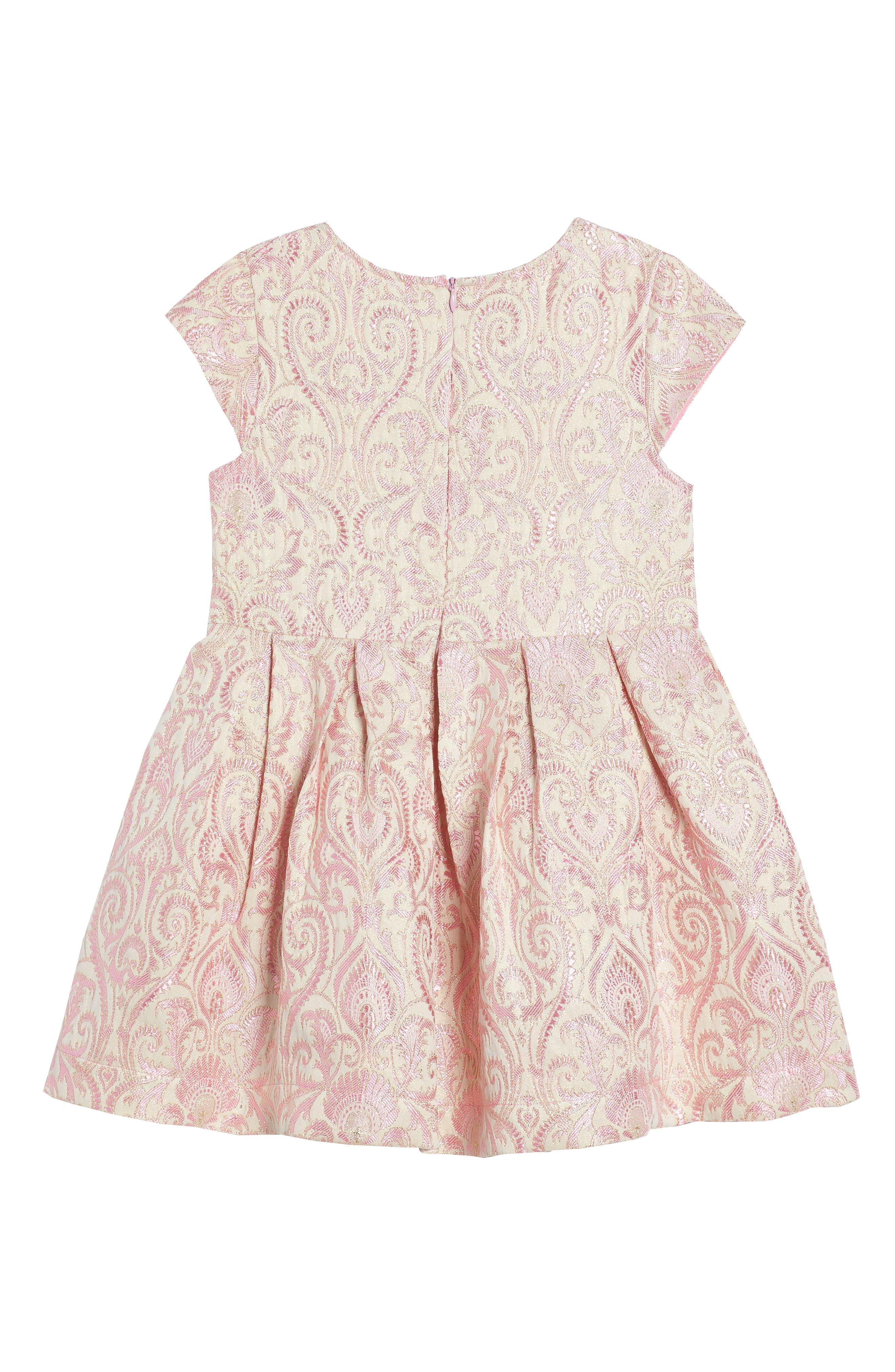 Lenox Brocade Dress,                             Alternate thumbnail 2, color,