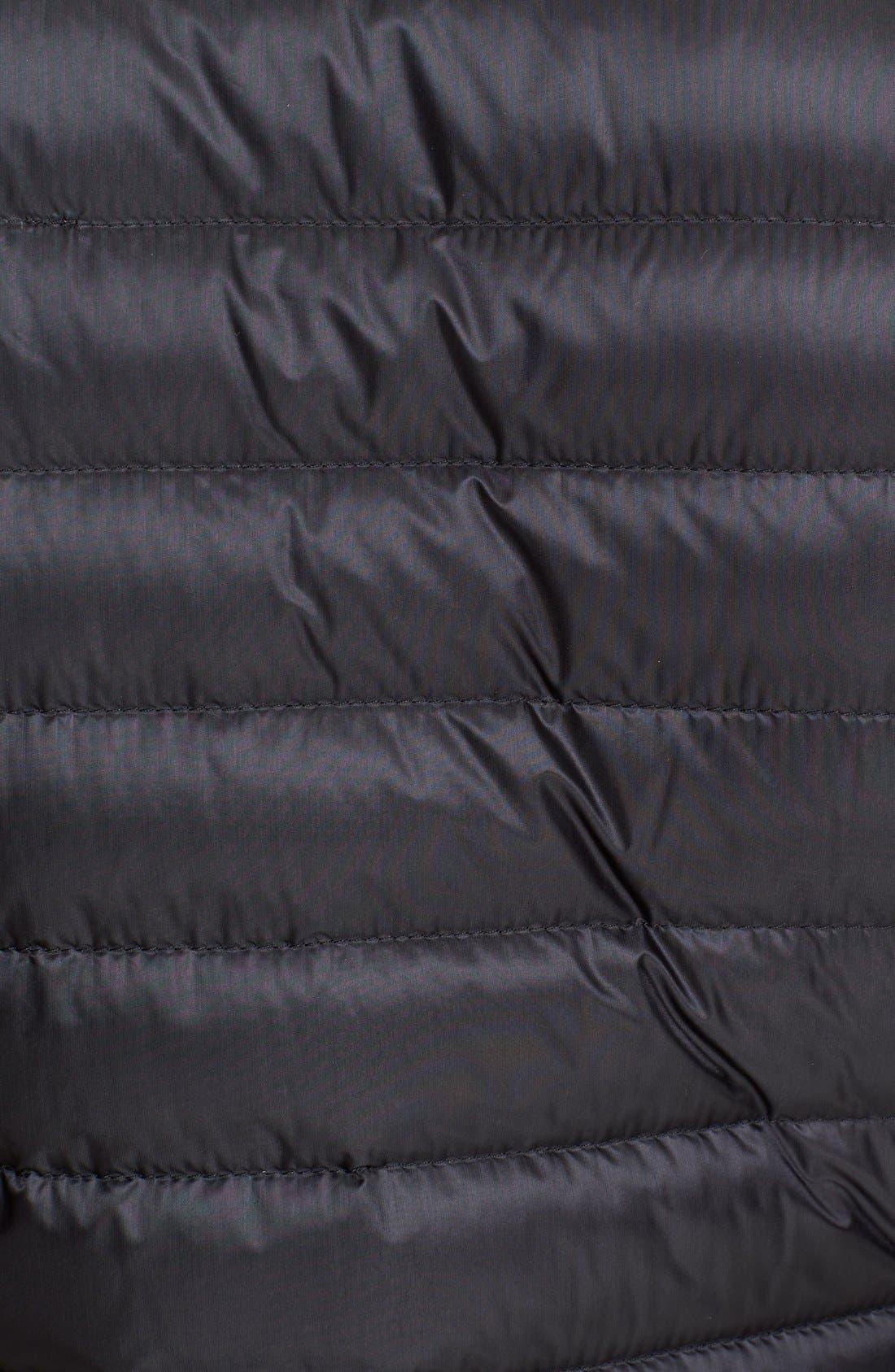 Bogue Water Resistant Long Down Jacket,                             Alternate thumbnail 2, color,                             001