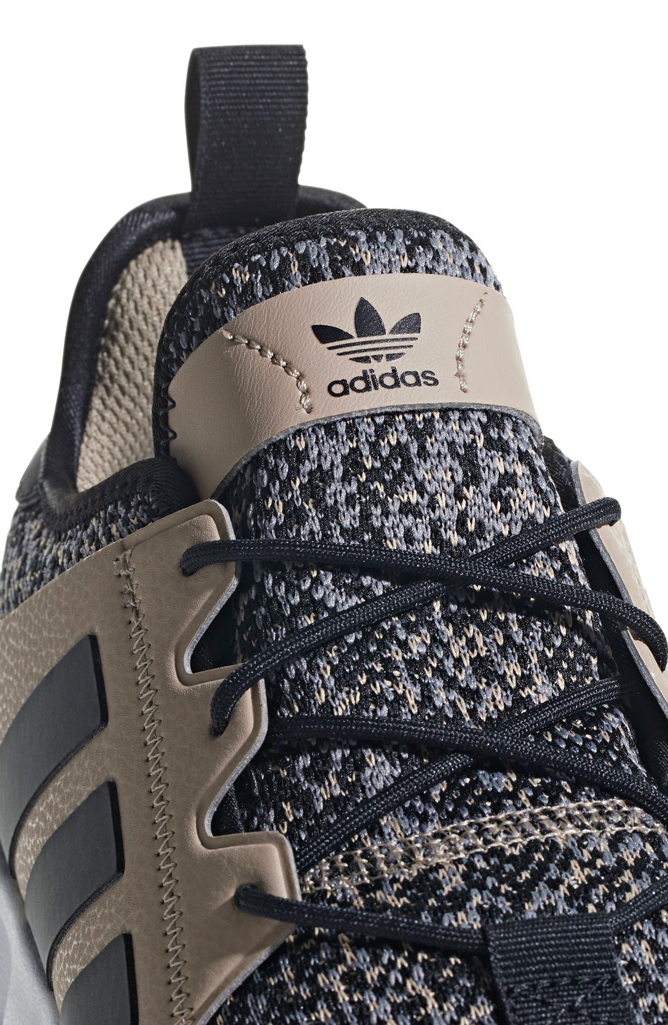 X_PLR Sneaker,                             Alternate thumbnail 7, color,                             KHAKI / CORE BLACK / WHITE