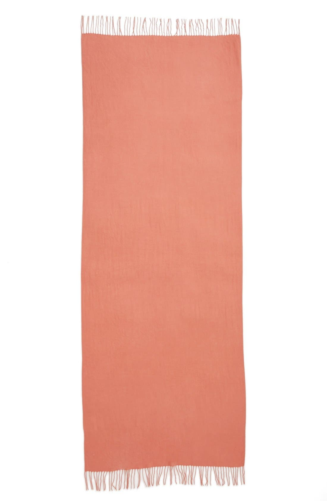 Tissue Weight Wool & Cashmere Scarf,                             Alternate thumbnail 203, color,