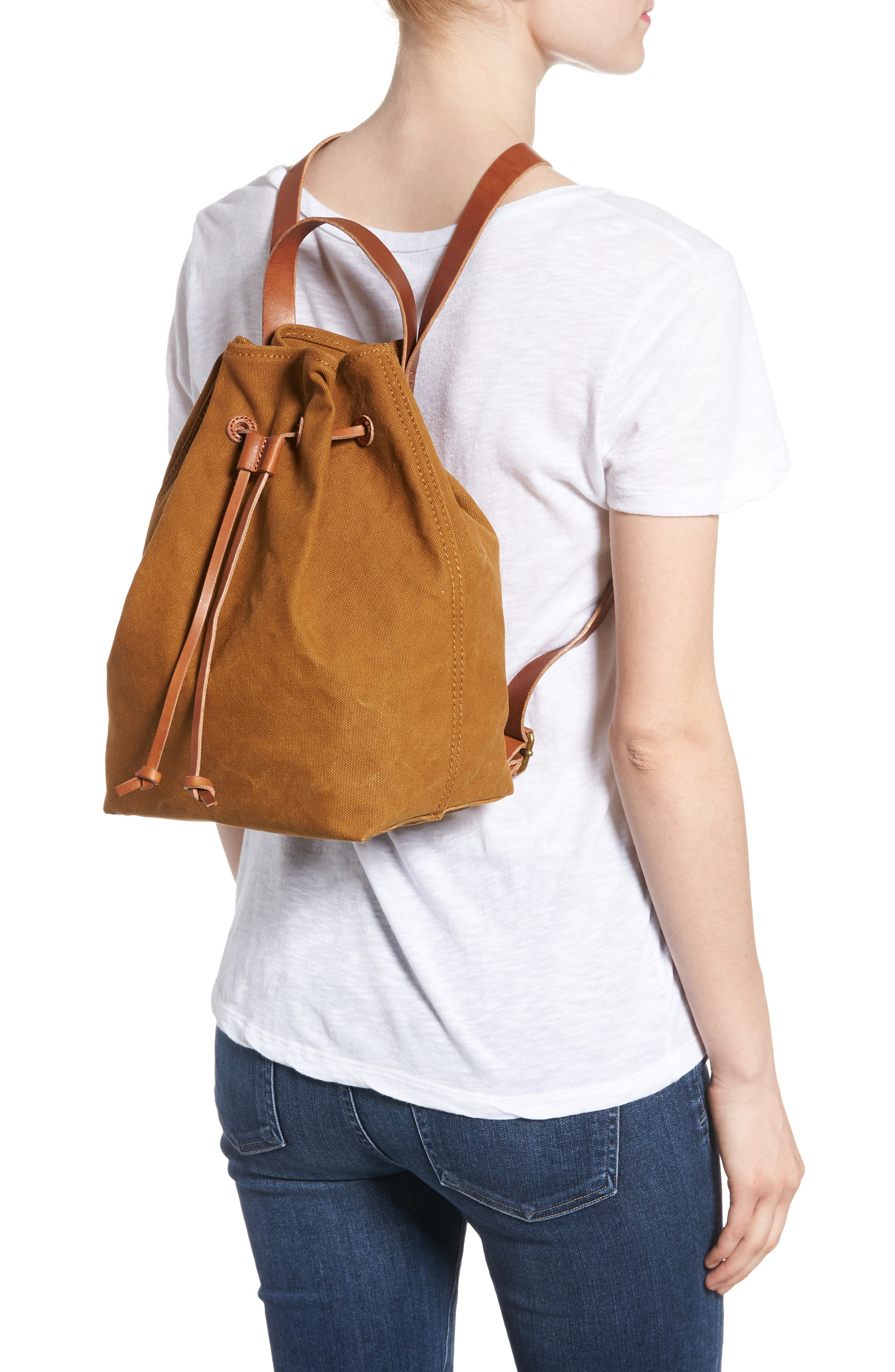 Somerset Canvas Backpack,                             Alternate thumbnail 7, color,