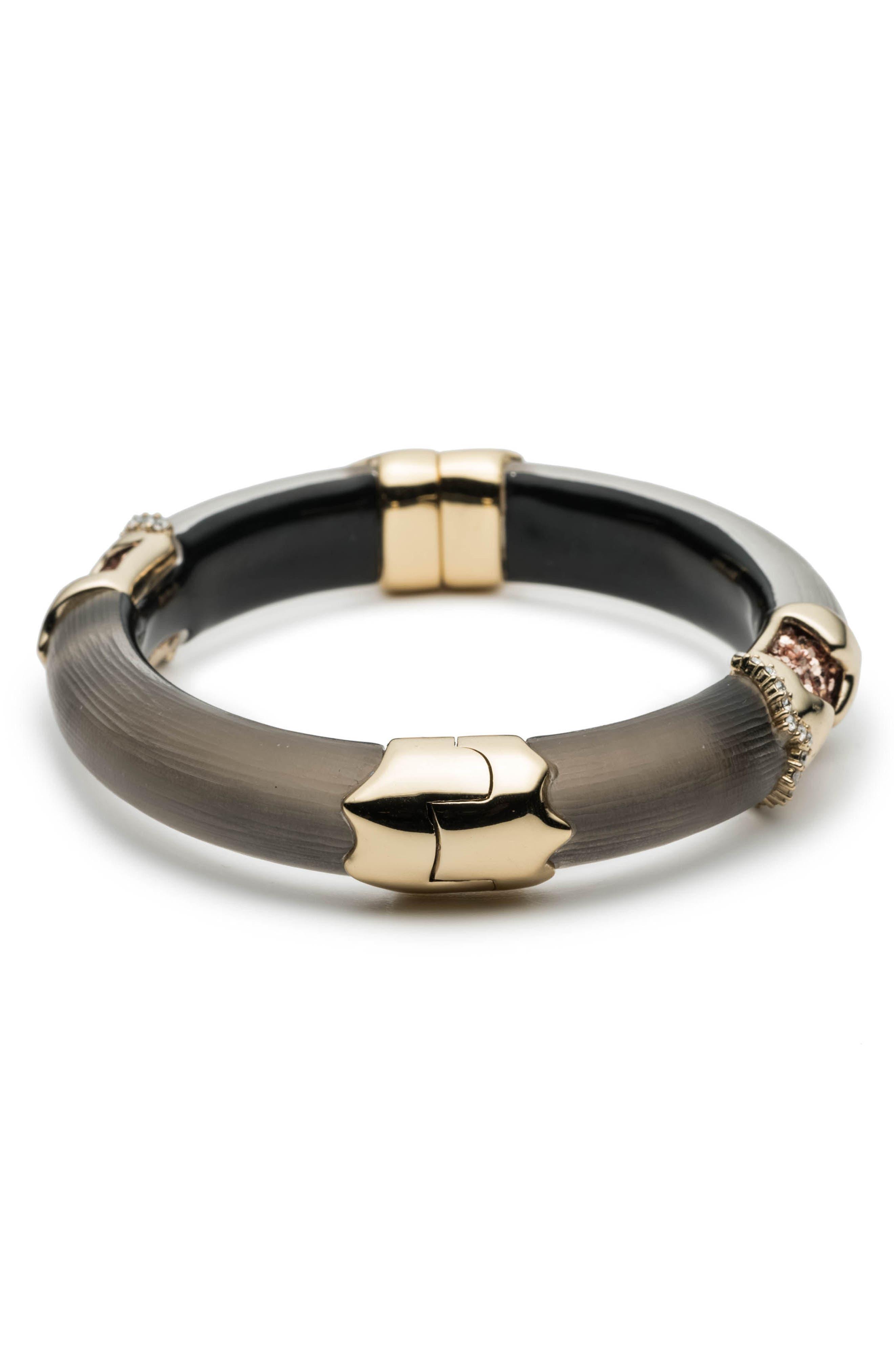 Lucite<sup>®</sup> Side Hinge Bracelet,                             Alternate thumbnail 2, color,                             020