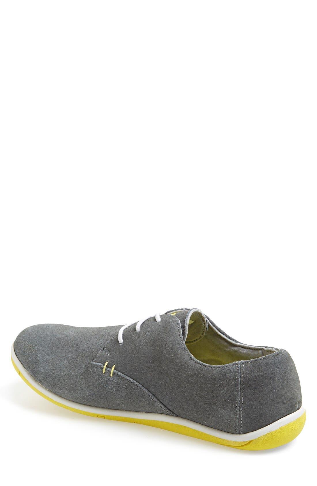 TRUE LINKSWEAR,                             'True Oxford' Golf Shoe,                             Alternate thumbnail 4, color,                             020