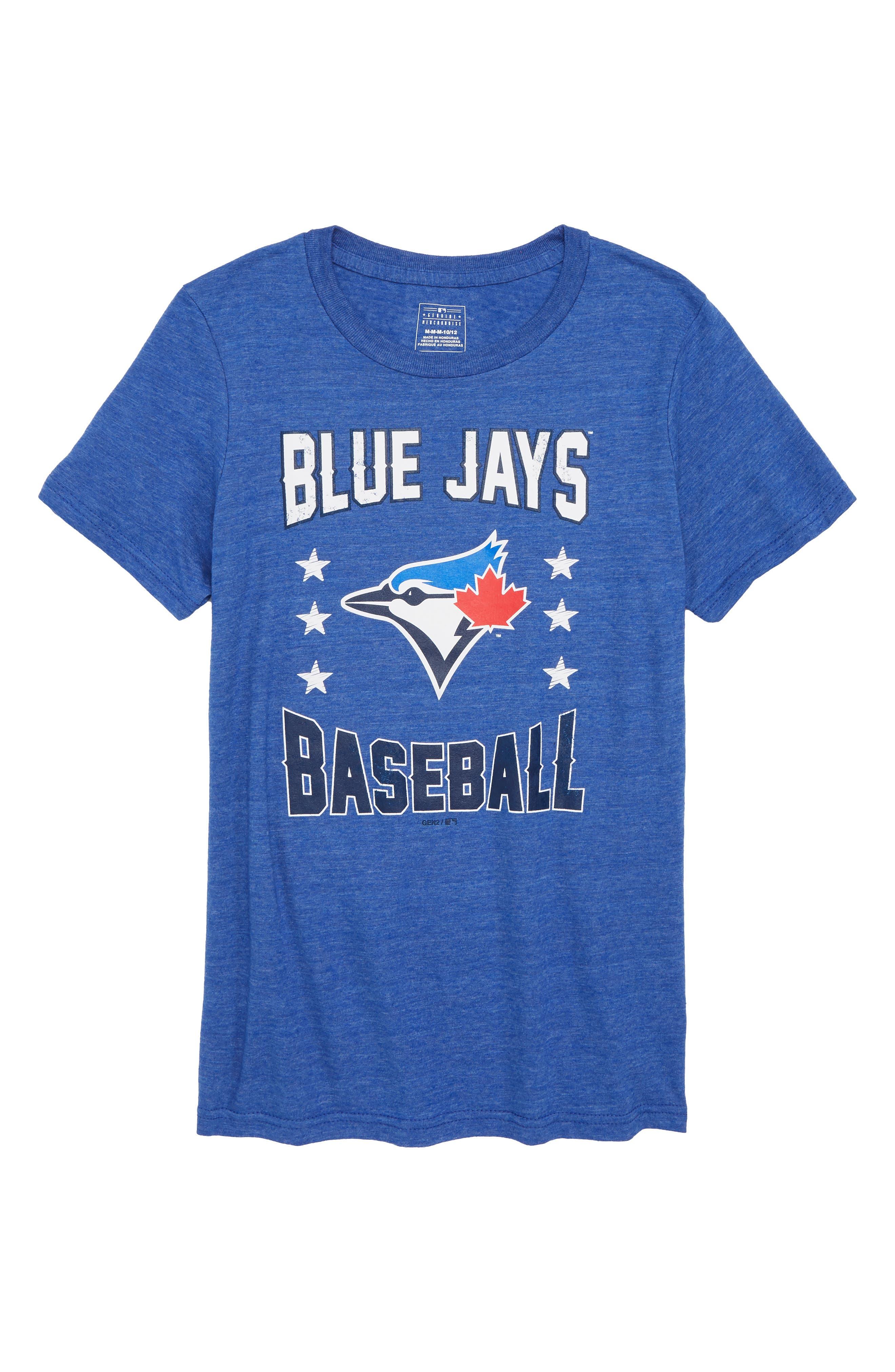 Toronto Blue Jays Triple Play T-Shirt,                             Main thumbnail 1, color,                             461