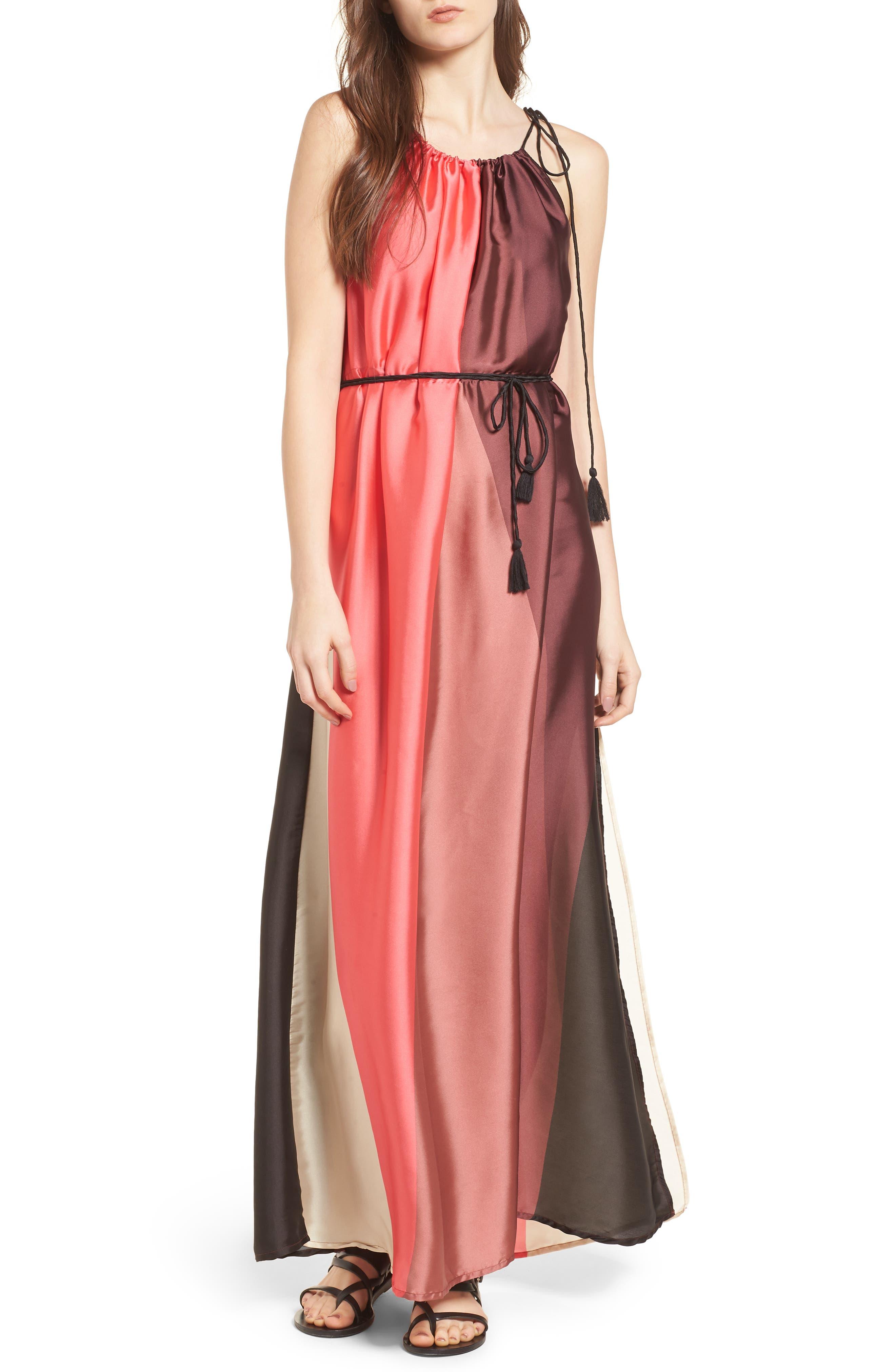 Icy Shores Maxi Dress,                         Main,                         color, 903
