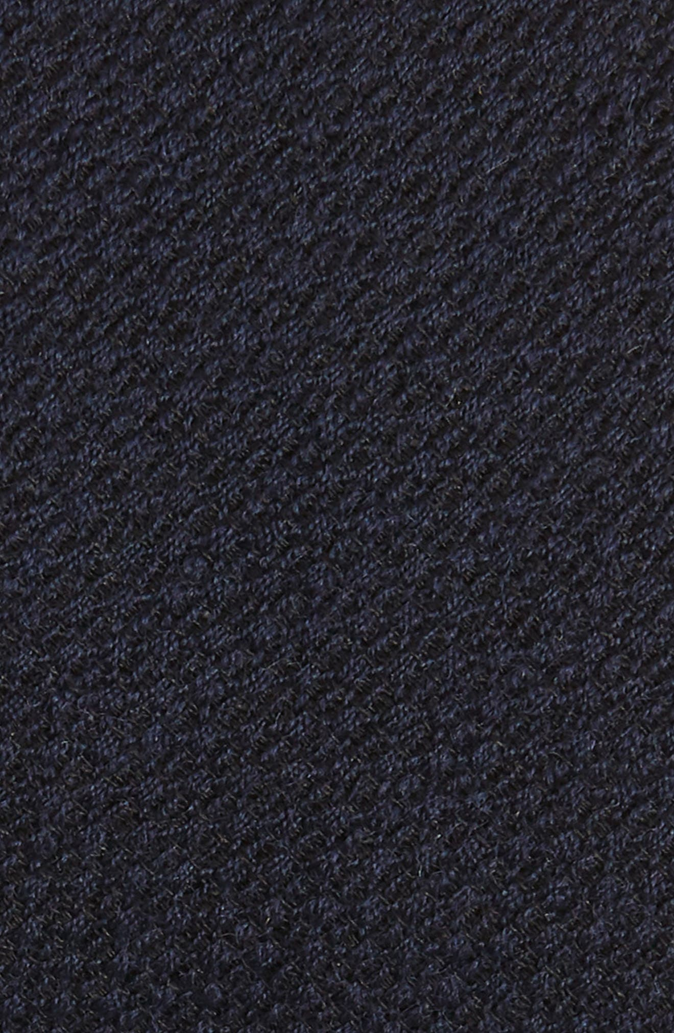 Solid Wool & Silk Tie,                             Alternate thumbnail 2, color,                             OPEN BLUE