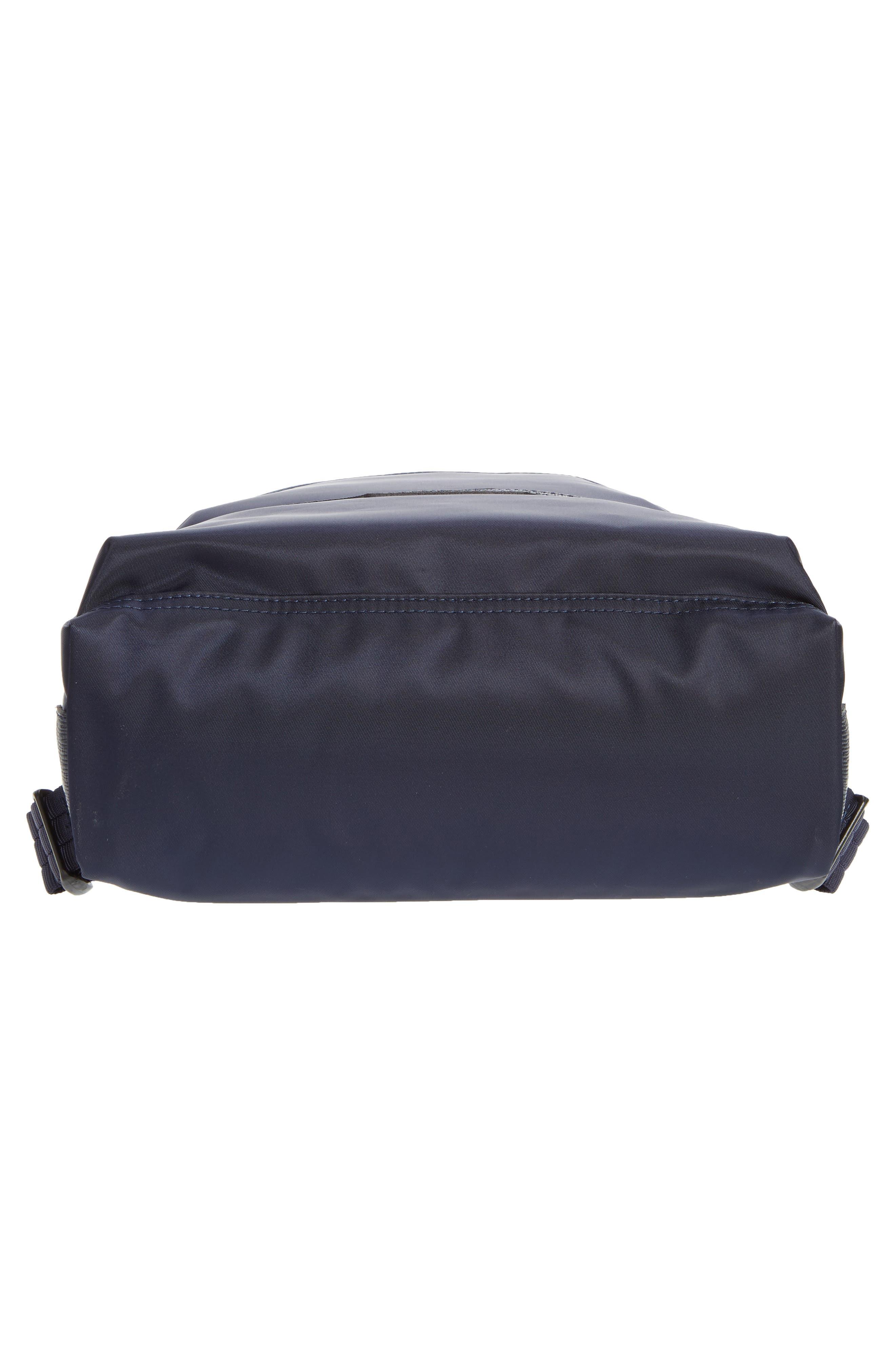 'Small Le Pliage Neo' Nylon Backpack,                             Alternate thumbnail 6, color,                             NAVY BLUE