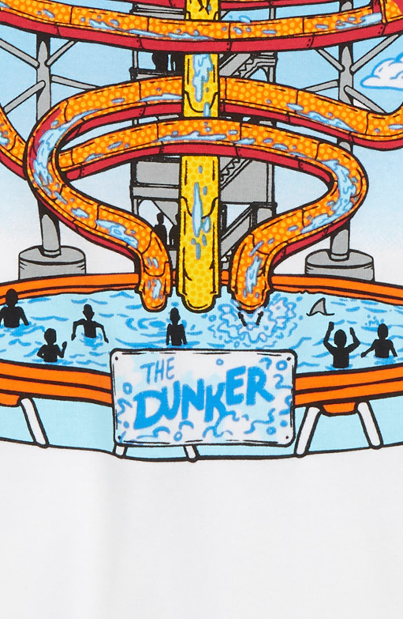 Water Park Graphic T-Shirt,                             Alternate thumbnail 2, color,