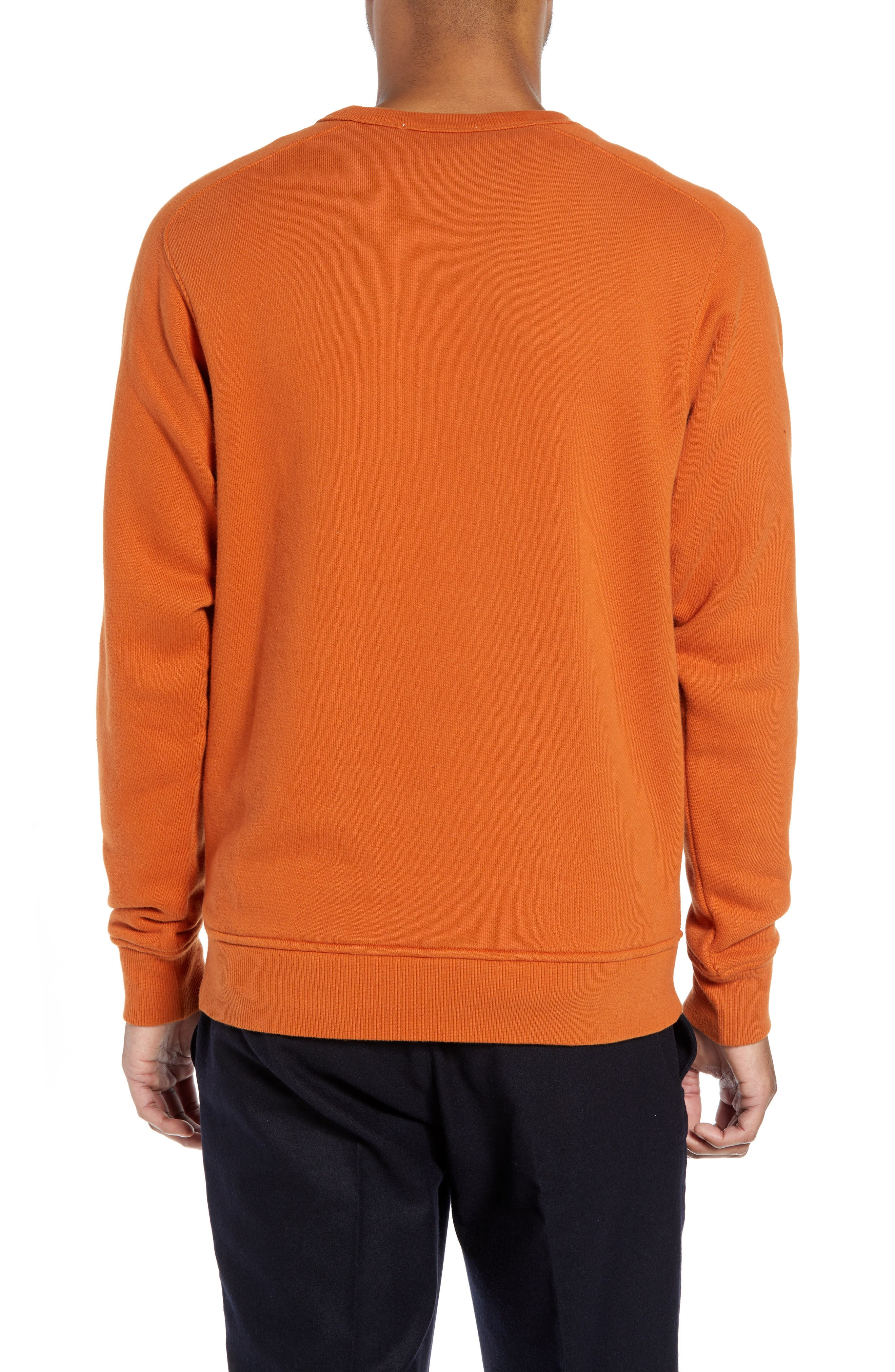 Almost Grown Crewneck Sweatshirt,                             Alternate thumbnail 2, color,                             RUST