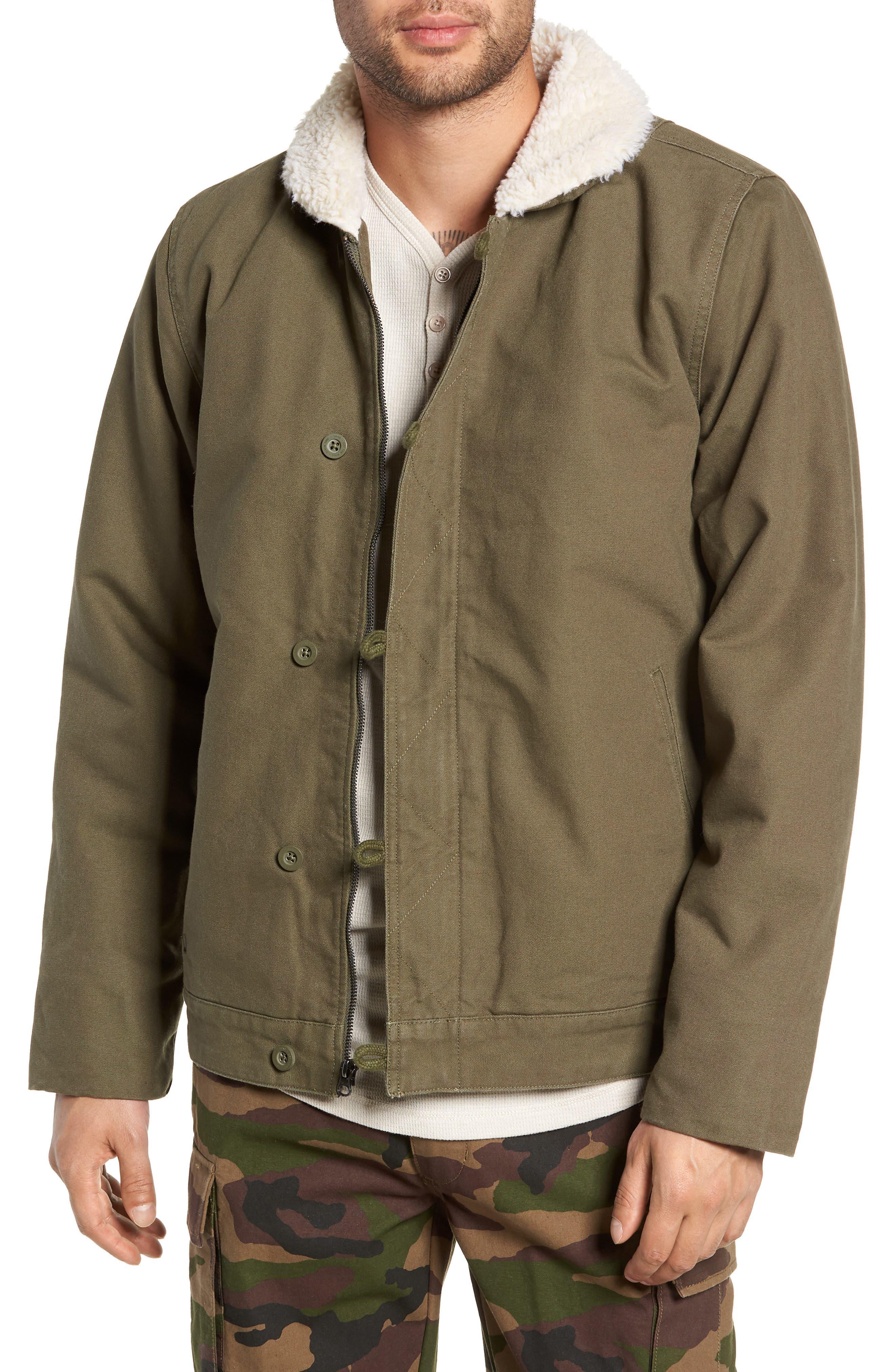 Alamitos Canvas Work Jacket,                         Main,                         color, GRAPE LEAF