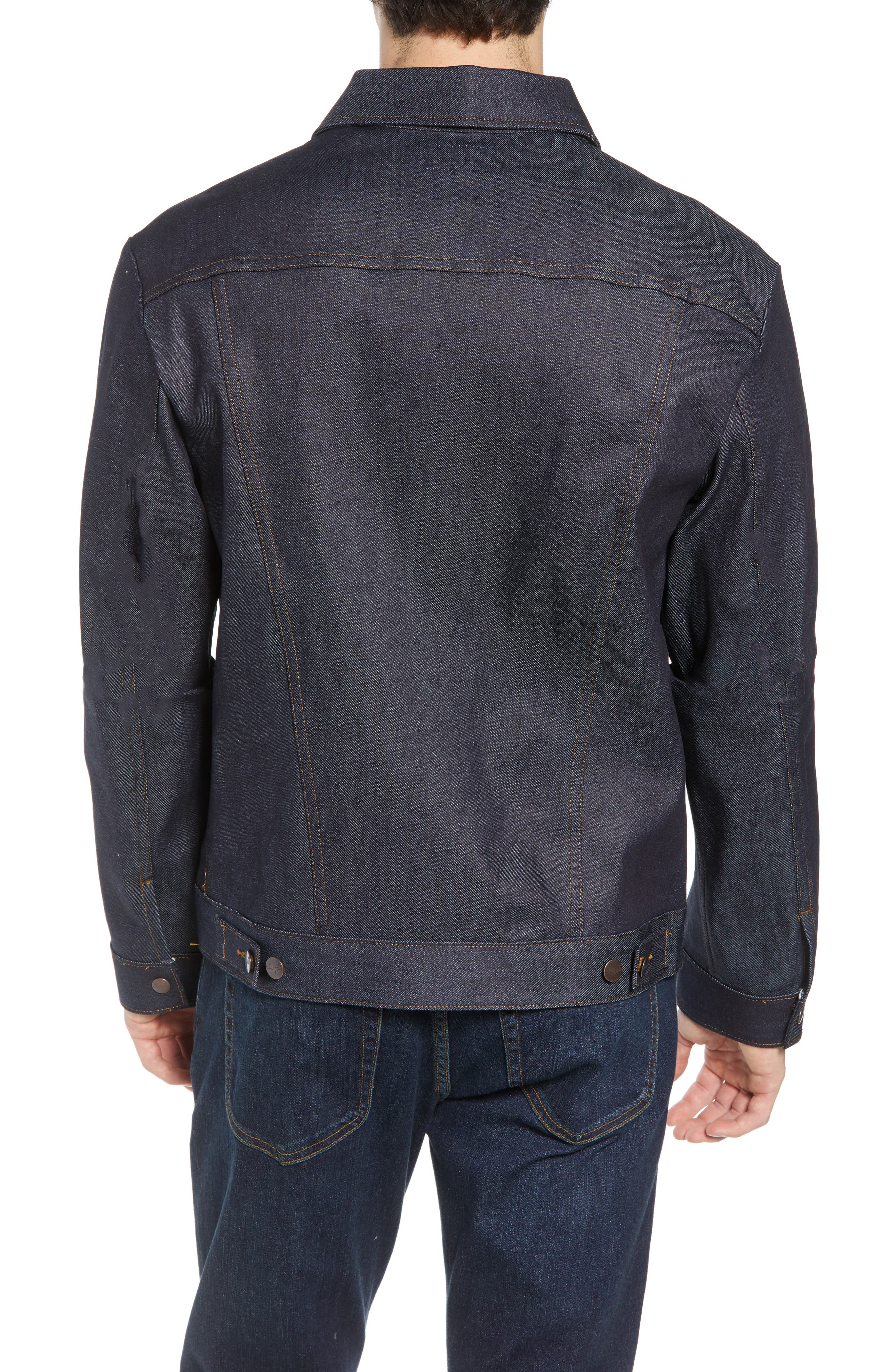 Heritage Denim Jacket,                             Alternate thumbnail 2, color,                             SELEVDGE RAW