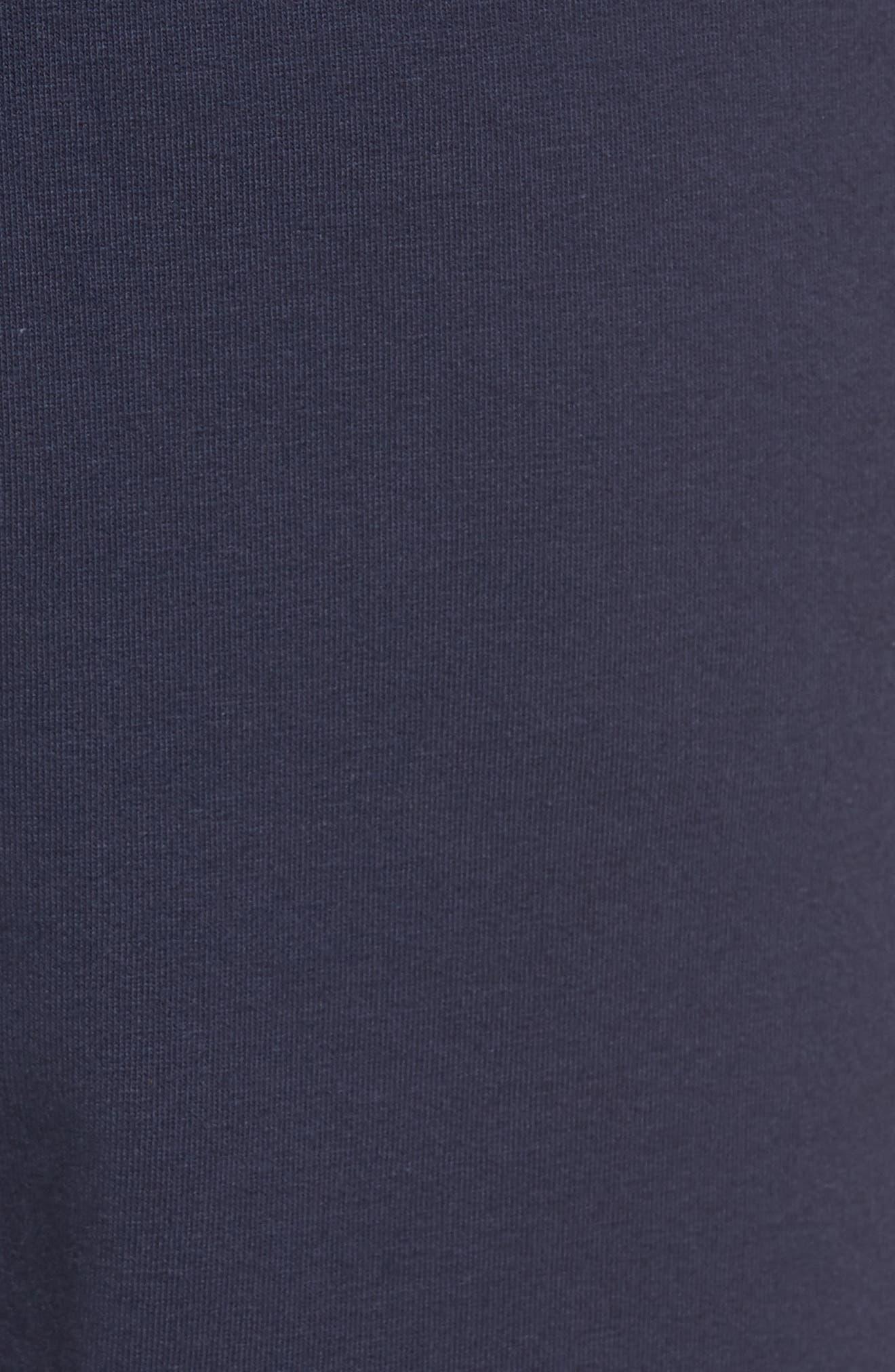 Living Lounge Shorts,                             Alternate thumbnail 5, color,                             BLACK IRIS