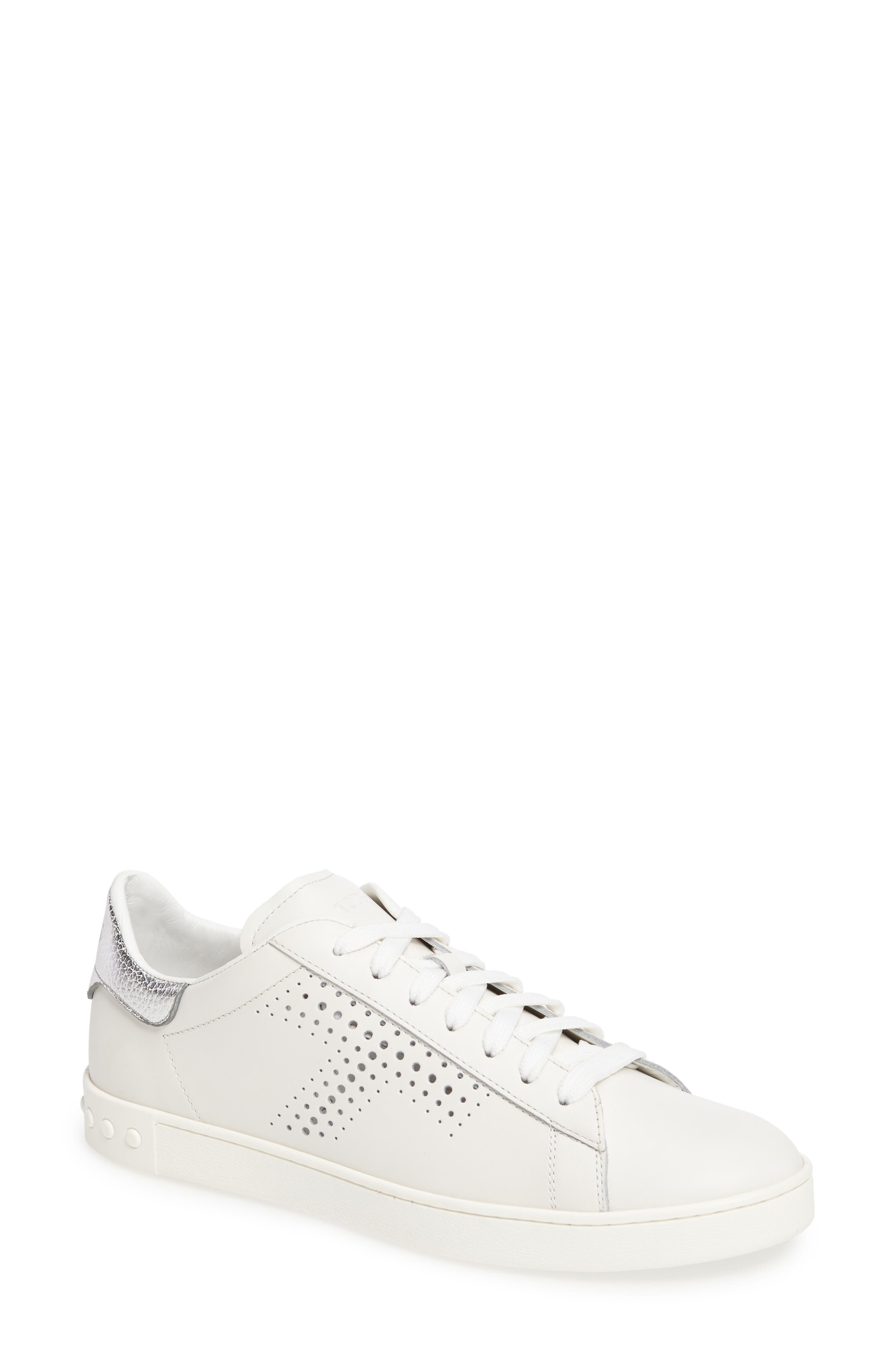 Perforated T Sneaker,                             Main thumbnail 2, color,