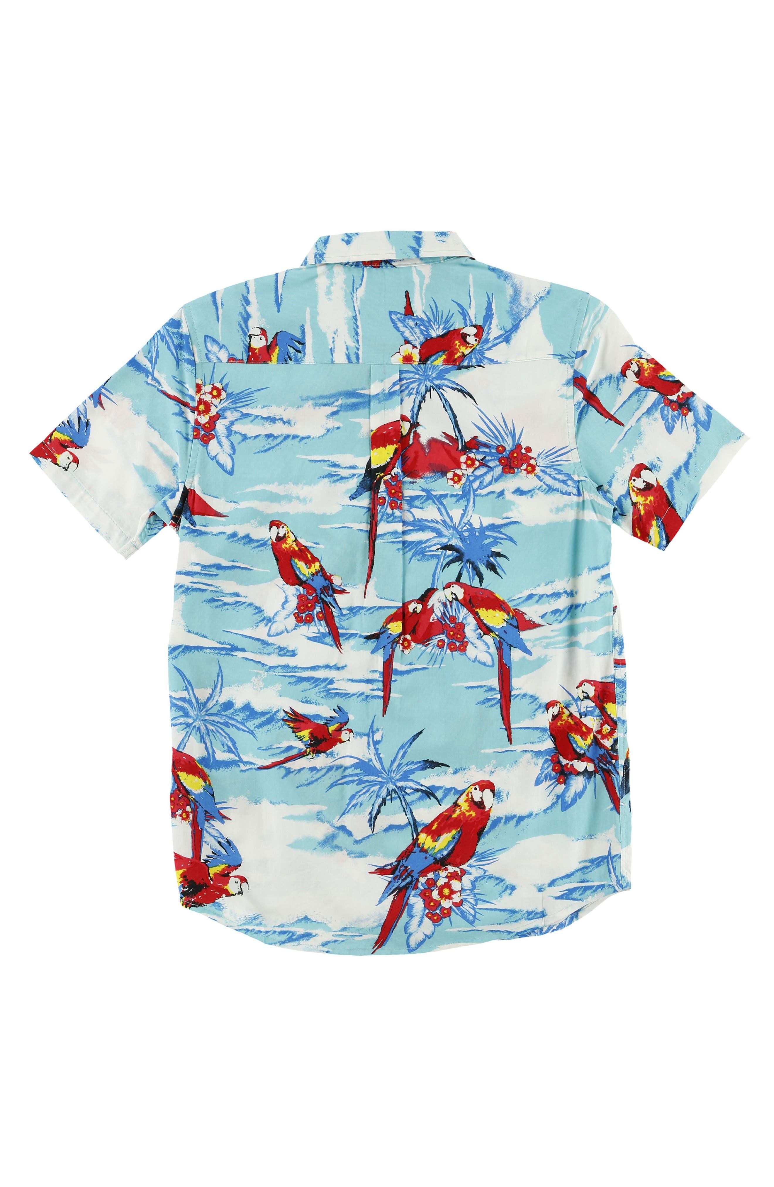 Macaw Sport Shirt,                             Alternate thumbnail 2, color,                             492