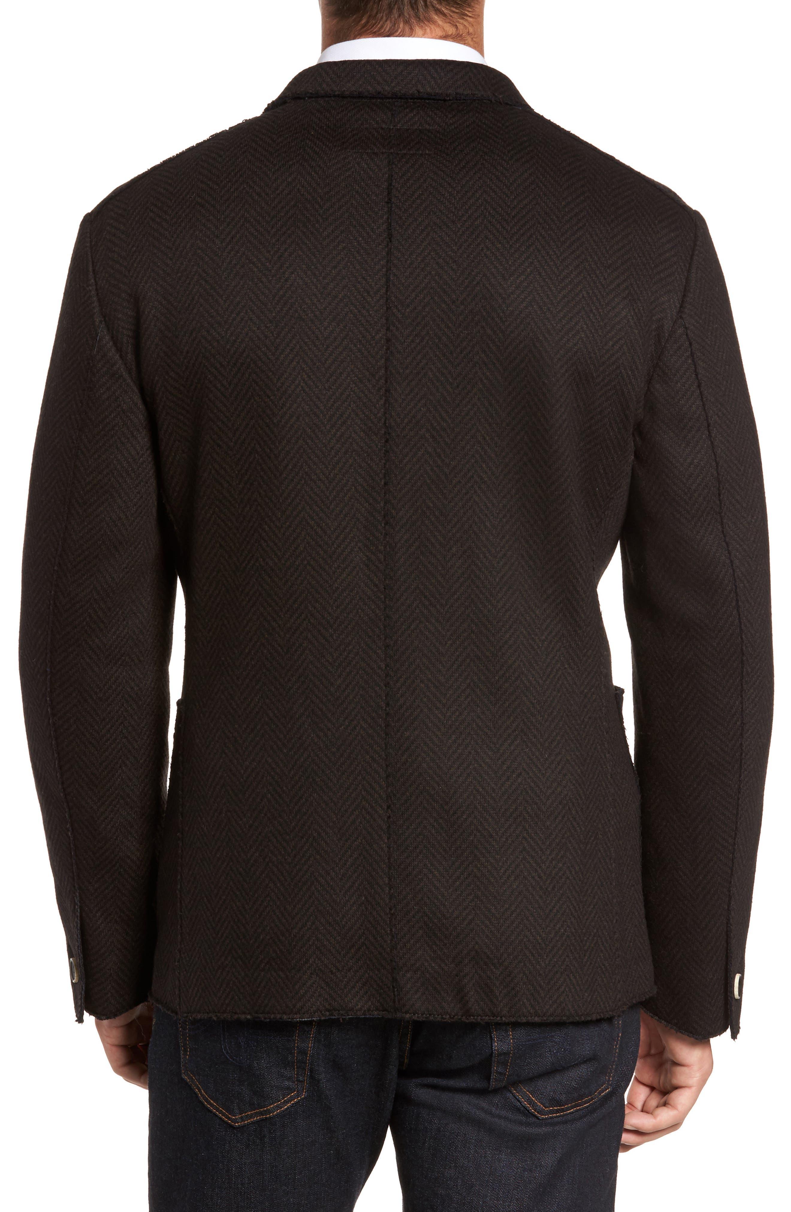 Laser Edge Wool Blend Jersey Sport Coat,                             Alternate thumbnail 2, color,                             201